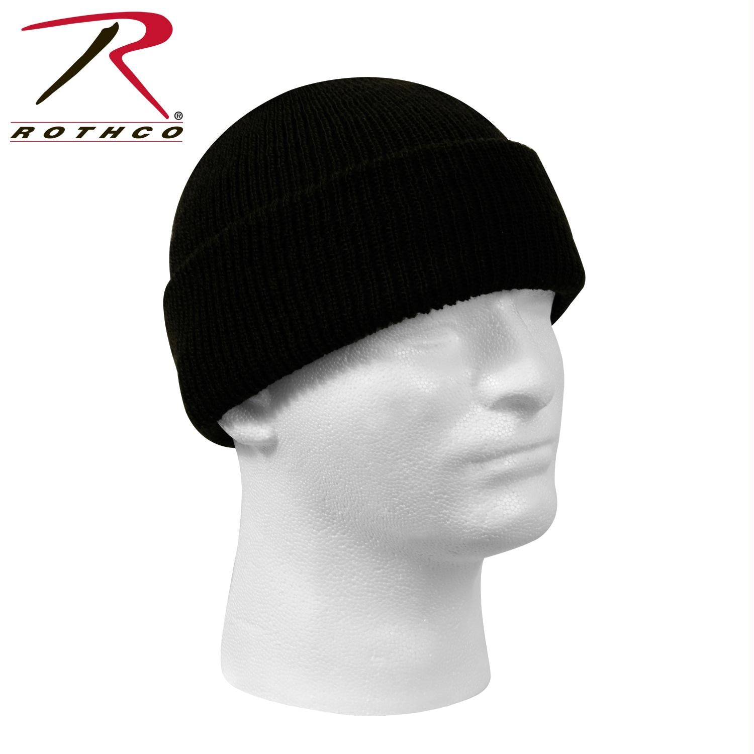 Genuine G.I. Wool Watch Cap - Black