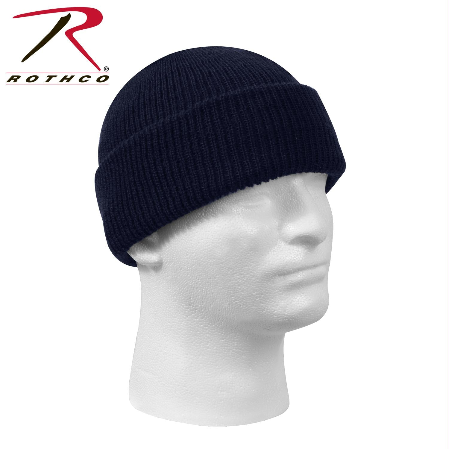 Genuine G.I. Wool Watch Cap - Navy Blue