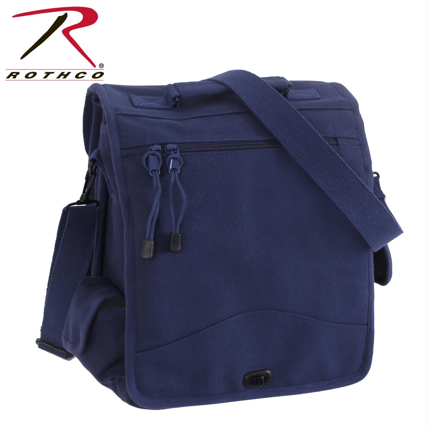 Rothco Canvas M-51 Engineers Field Bag - Navy Blue