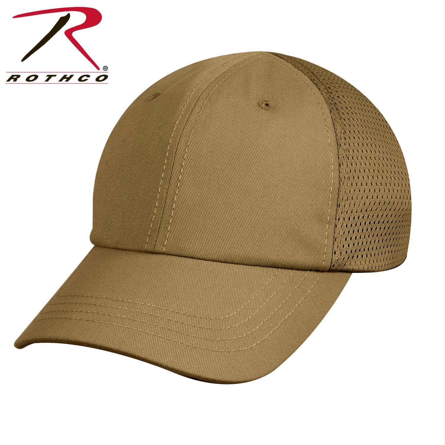 Rothco Mesh Back Tactical Cap - Coyote Brown / One Size