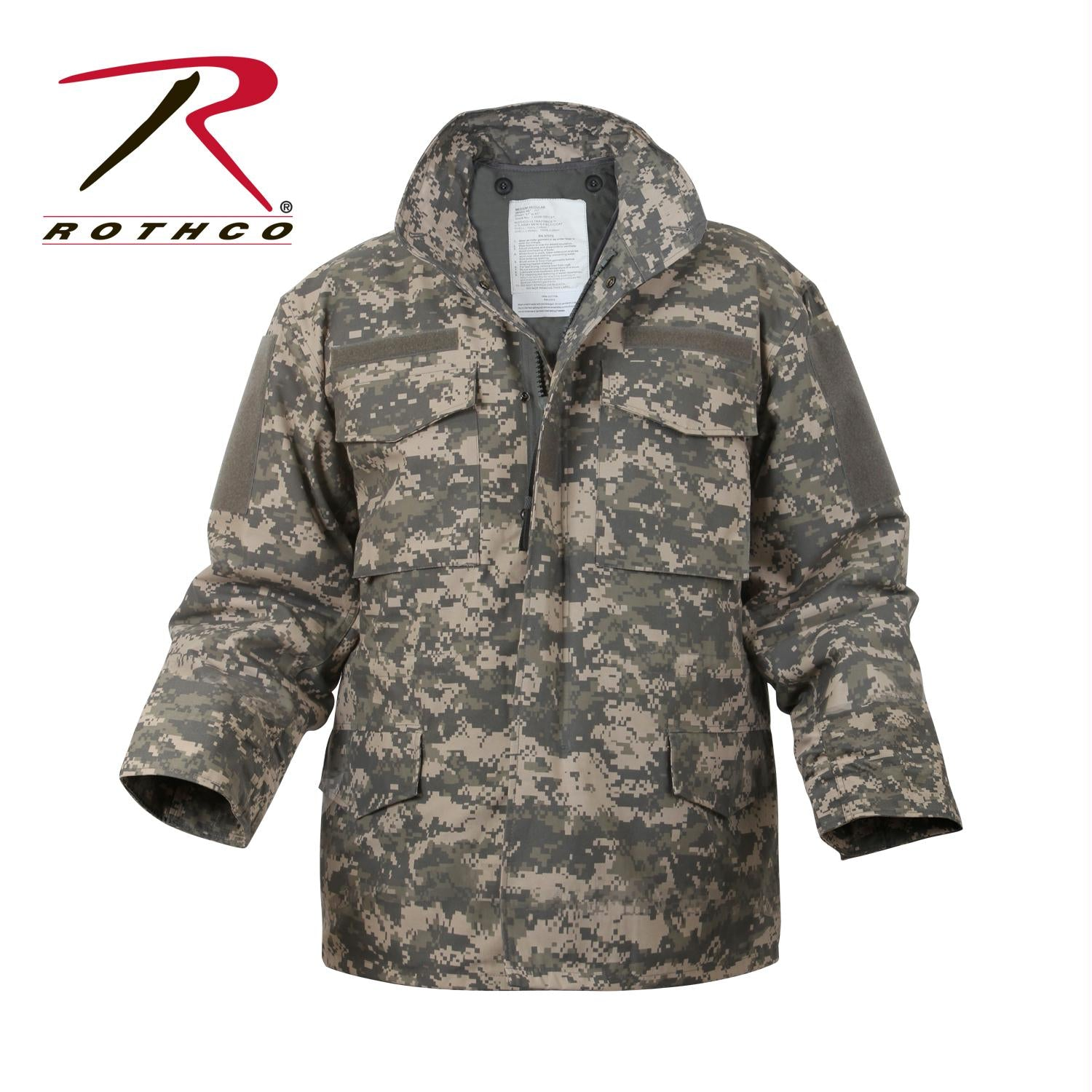 Rothco Digital Camo M-65 Field Jacket - XL