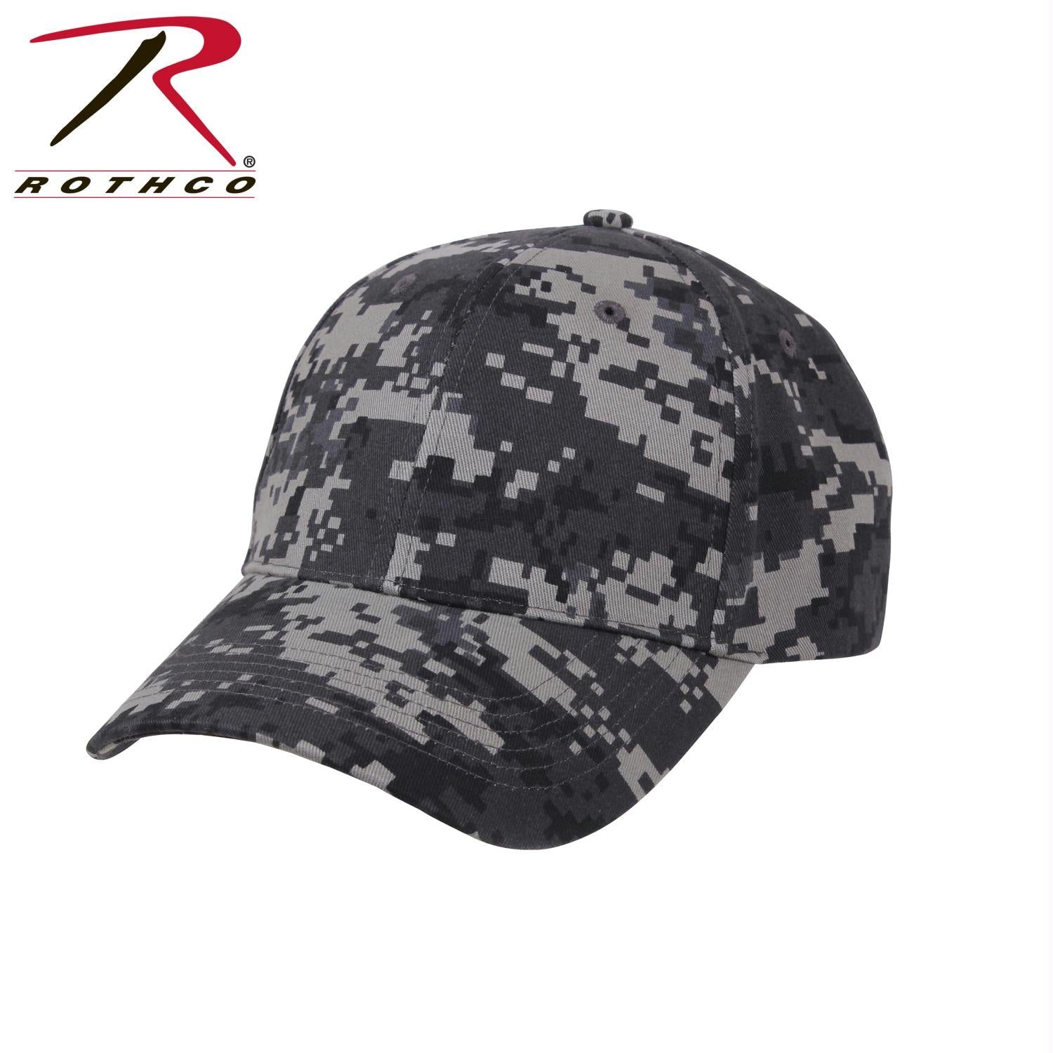 Rothco Supreme Camo Low Profile Cap - Subdued Urban Digital Camo / One Size