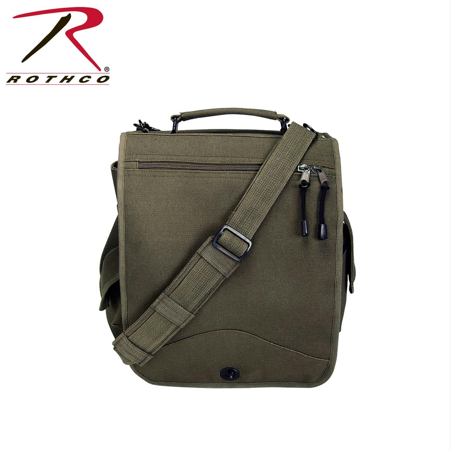 Rothco Canvas M-51 Engineers Field Bag - Olive Drab