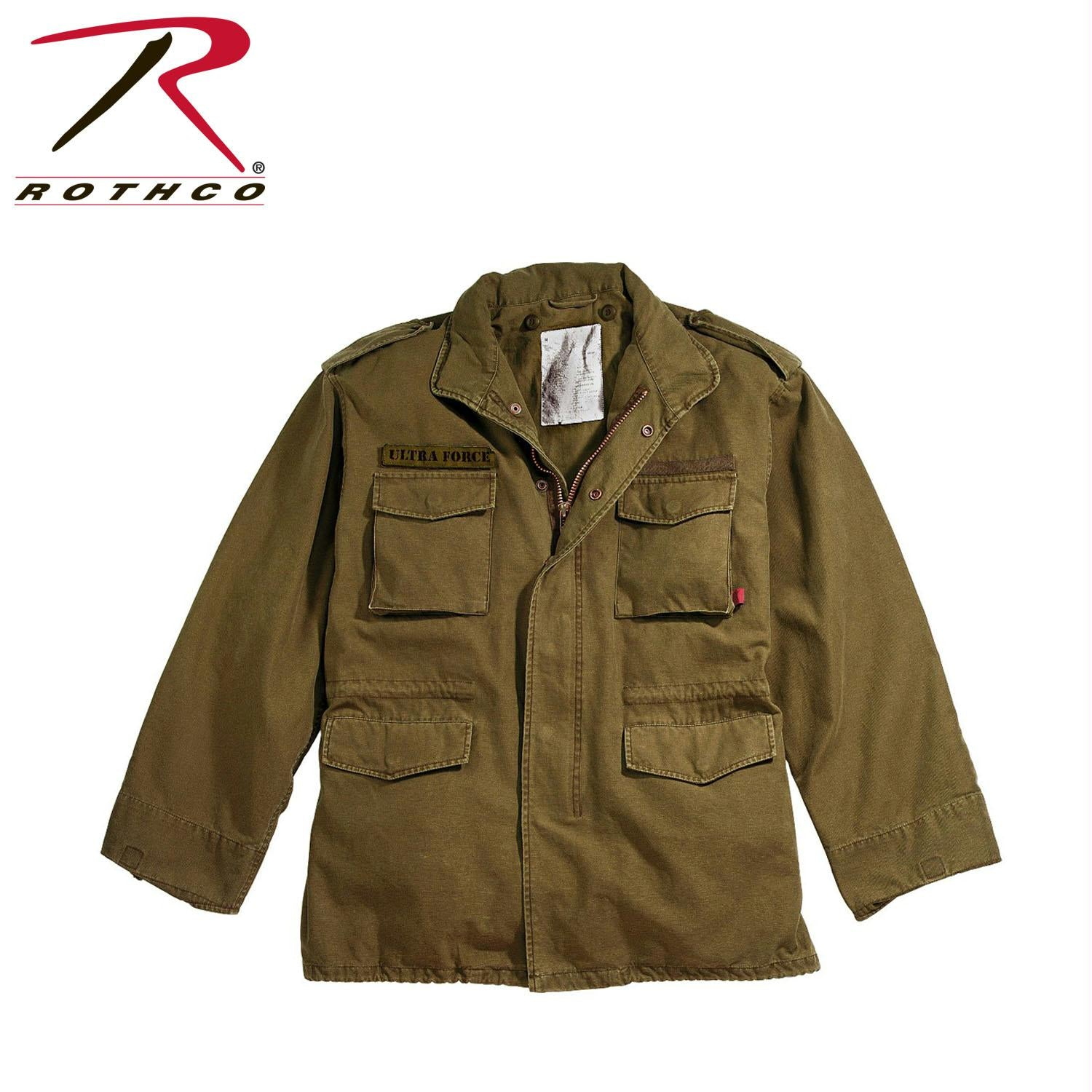 Rothco Vintage M-65 Field Jackets - Russet Brown / 2XL