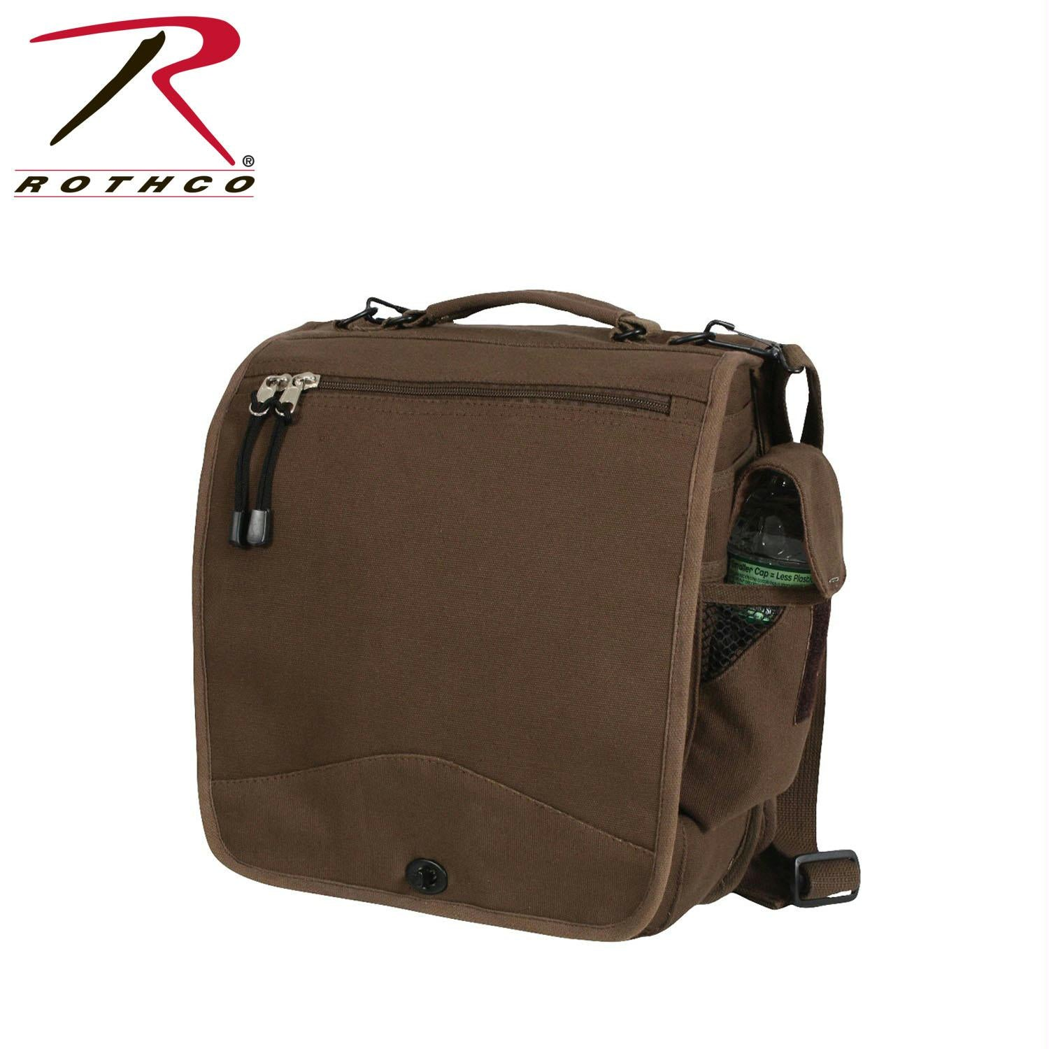 Rothco Canvas M-51 Engineers Field Bag - Earth Brown