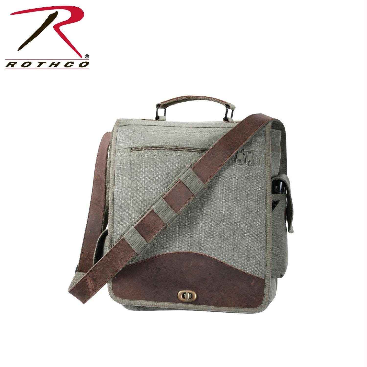 Rothco Vintage M-51 Engineers Bag - Olive Drab