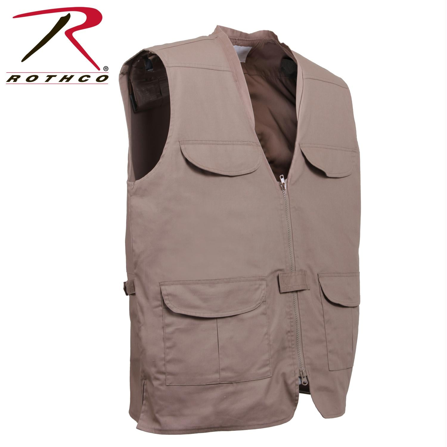 Rothco Lightweight Professional Concealed Carry Vest - Khaki / S