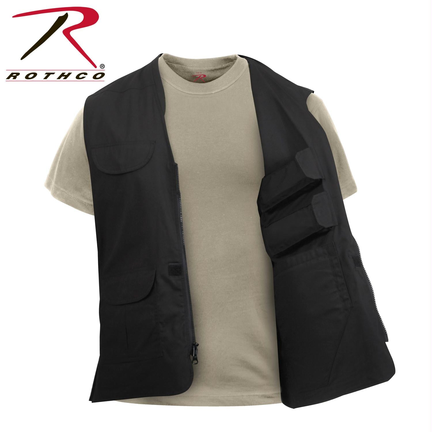 Rothco Lightweight Professional Concealed Carry Vest - Black / 3XL