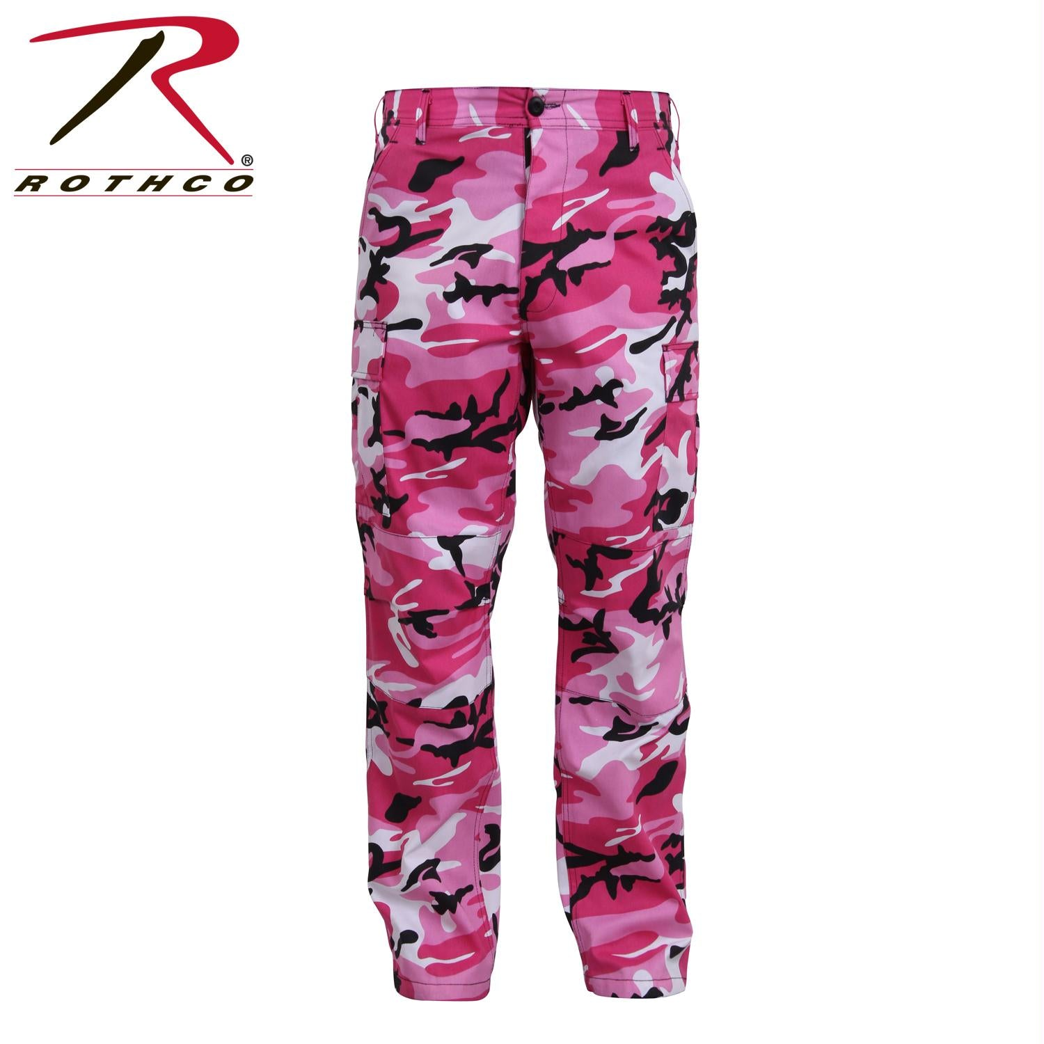 Rothco Color Camo Tactical BDU Pant - Pink Camo / 2XL