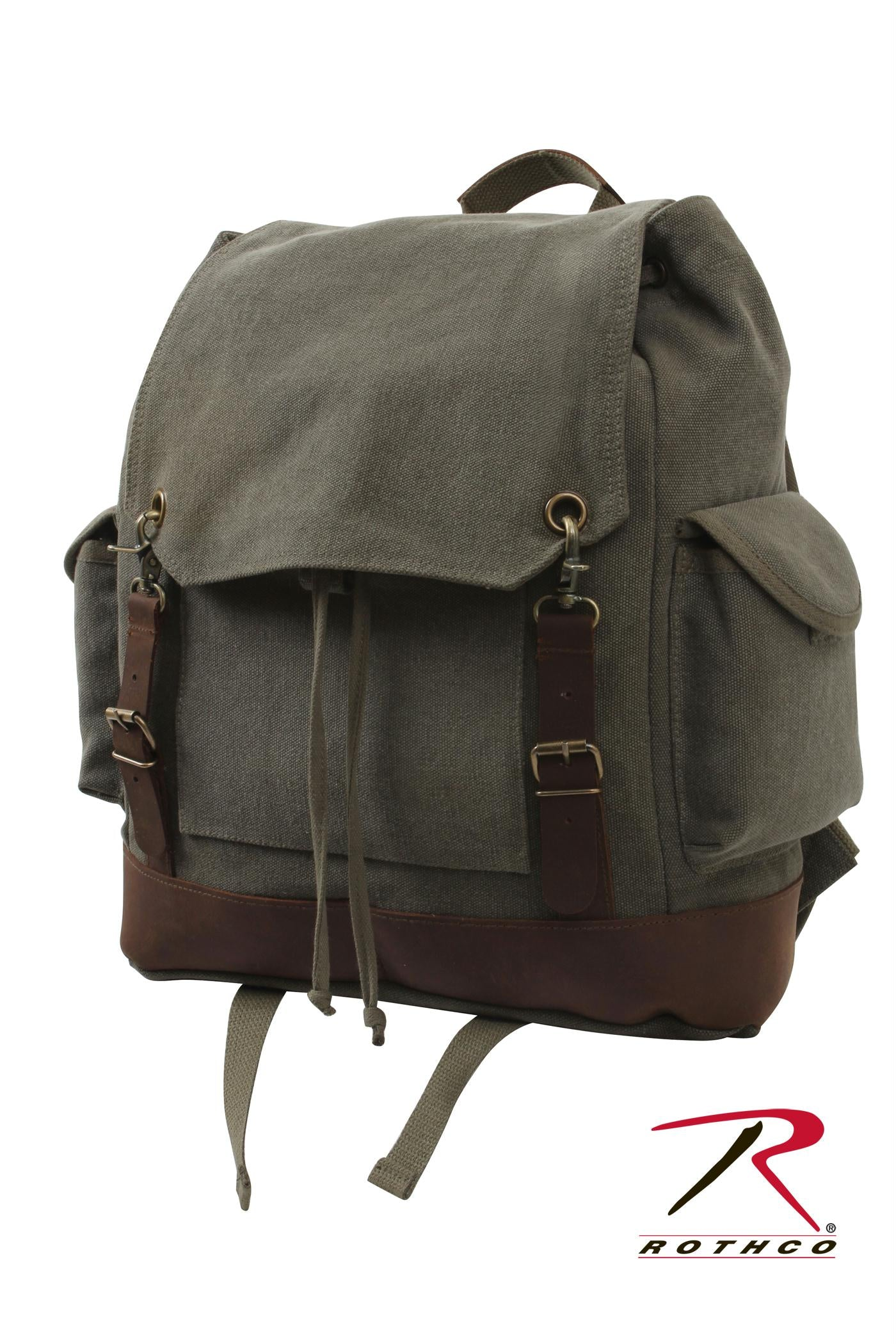 Rothco Vintage Expedition Rucksack - Olive Drab