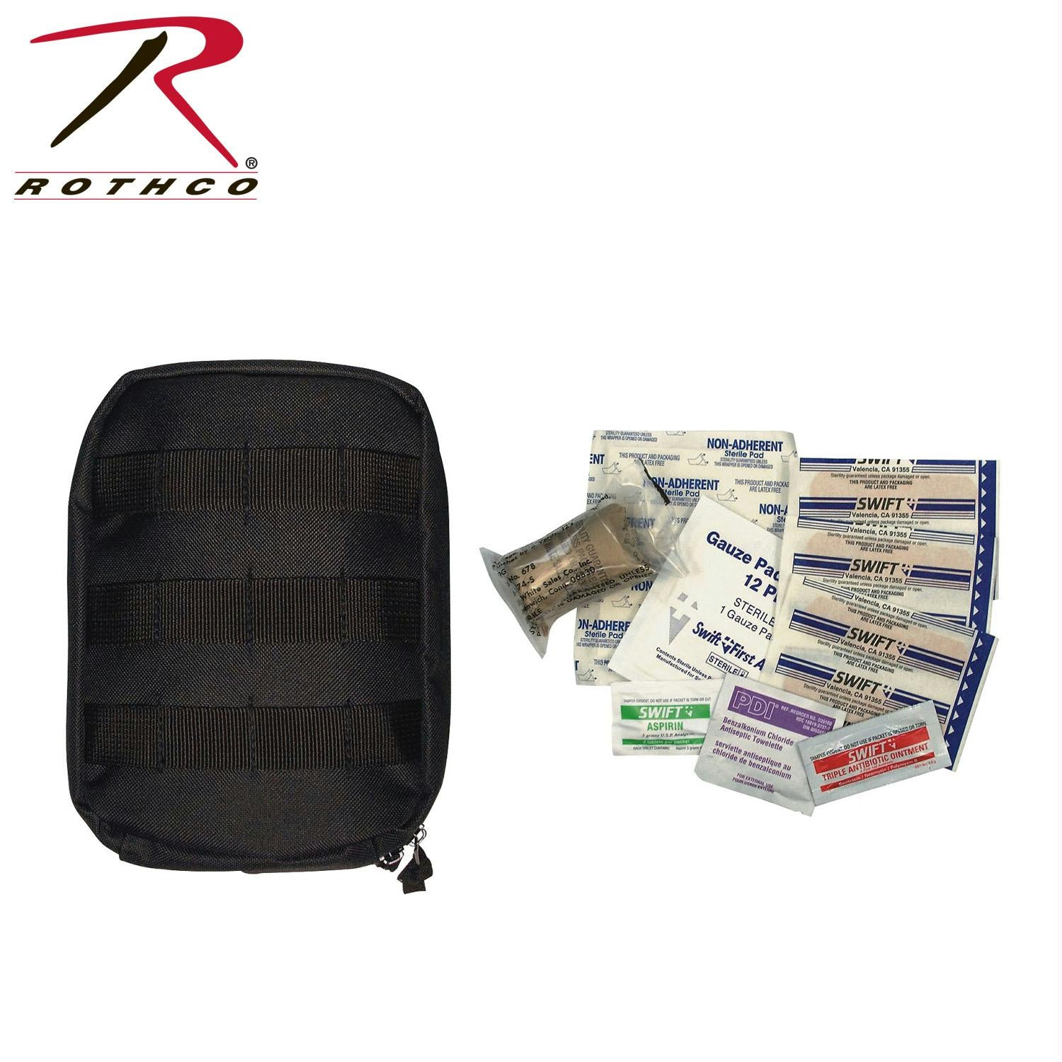 Rothco MOLLE Tactical First Aid Kit - Black