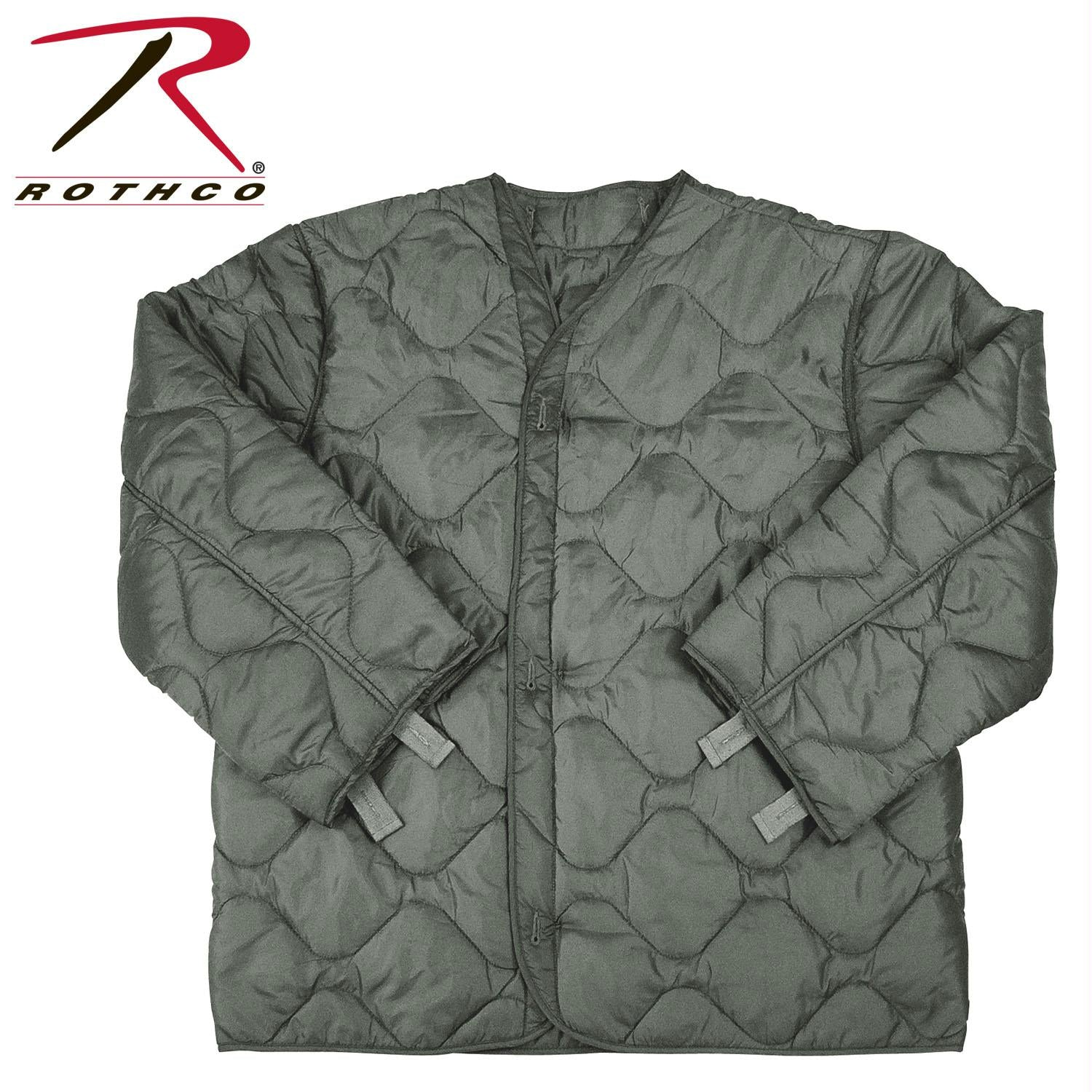 Rothco M-65 Field Jacket Liner - Foliage Green / 2XL