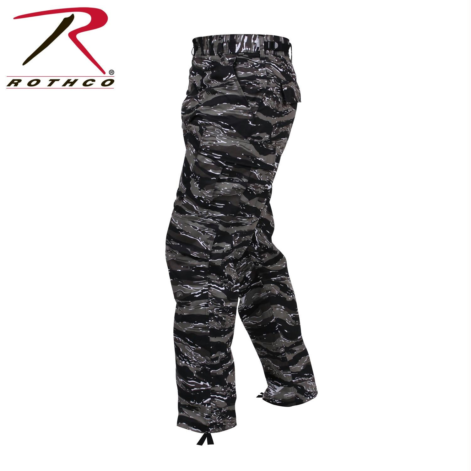 Rothco Color Camo Tactical BDU Pant - Urban Tiger Stripe Camo / XL