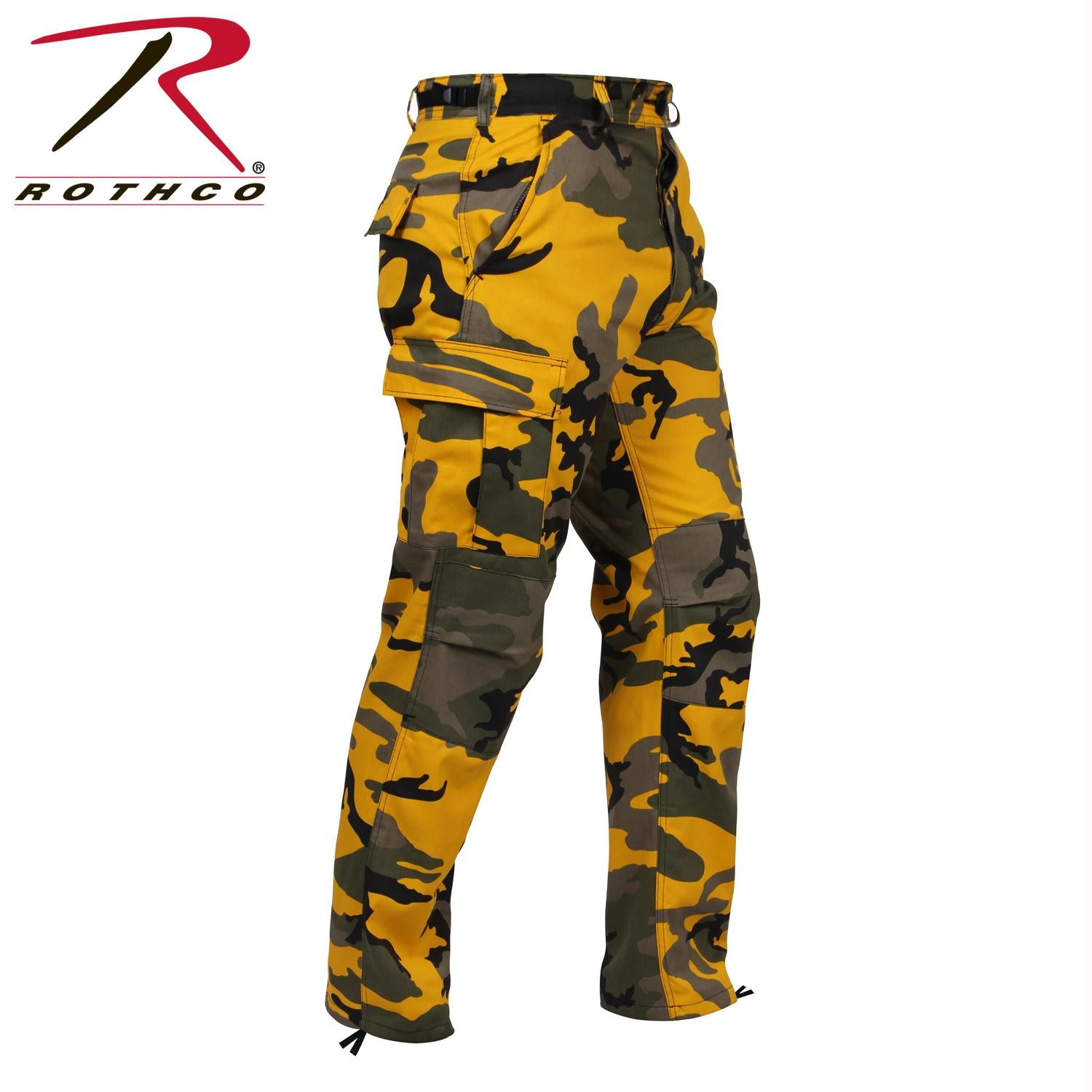 Rothco Color Camo Tactical BDU Pant - Stinger Yellow Camo / 2XL
