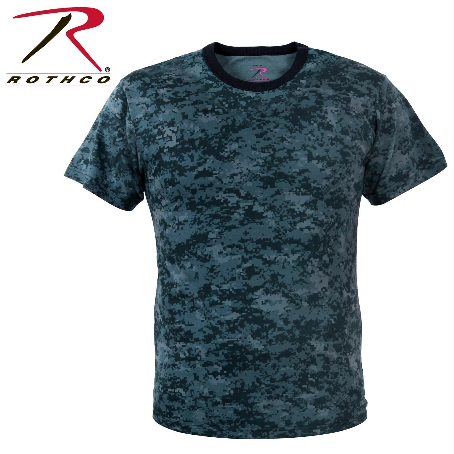Rothco Digital Camo T-Shirt - Midnight Digital Camo / M