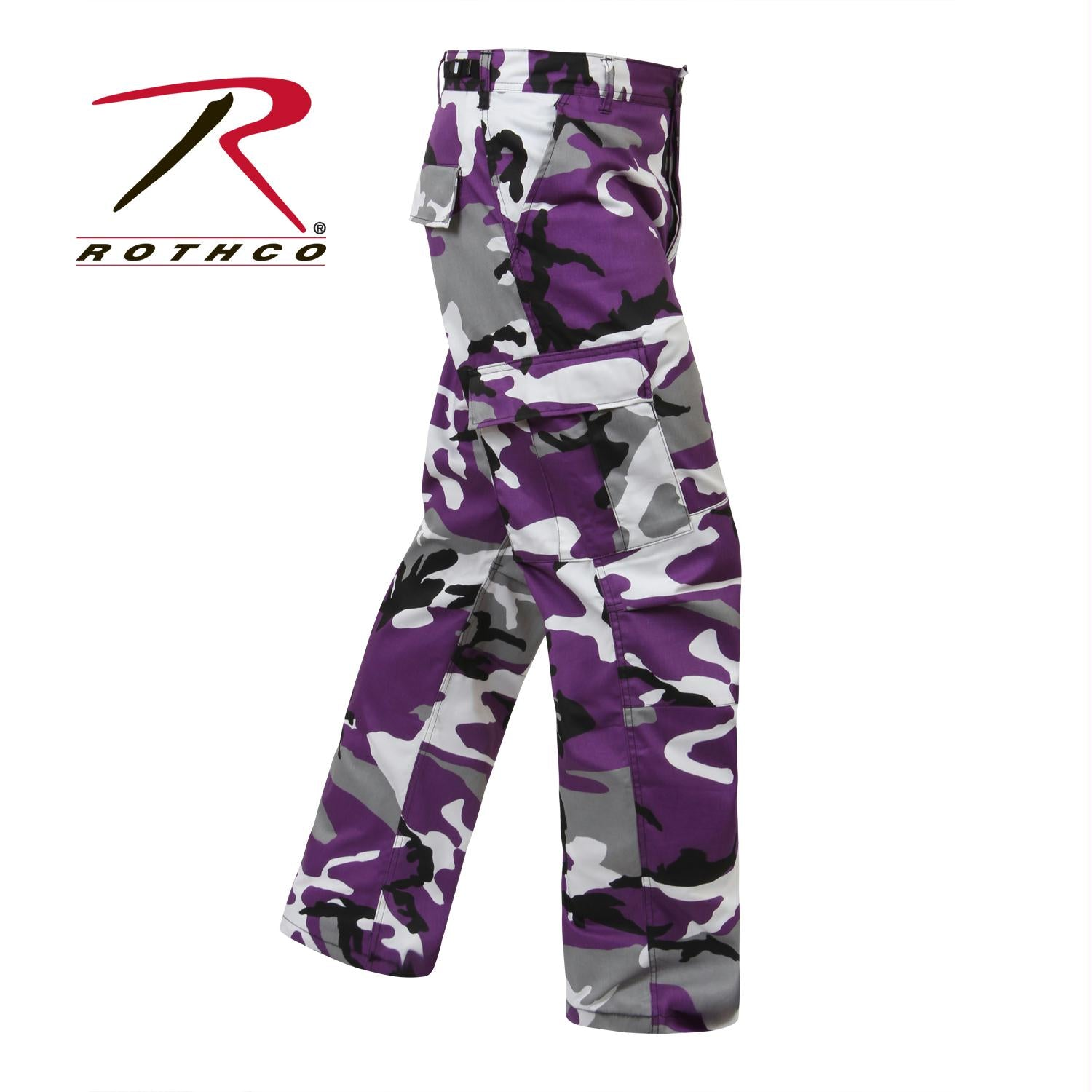 Rothco Color Camo Tactical BDU Pant - Ultra Violet Camo / 4XL