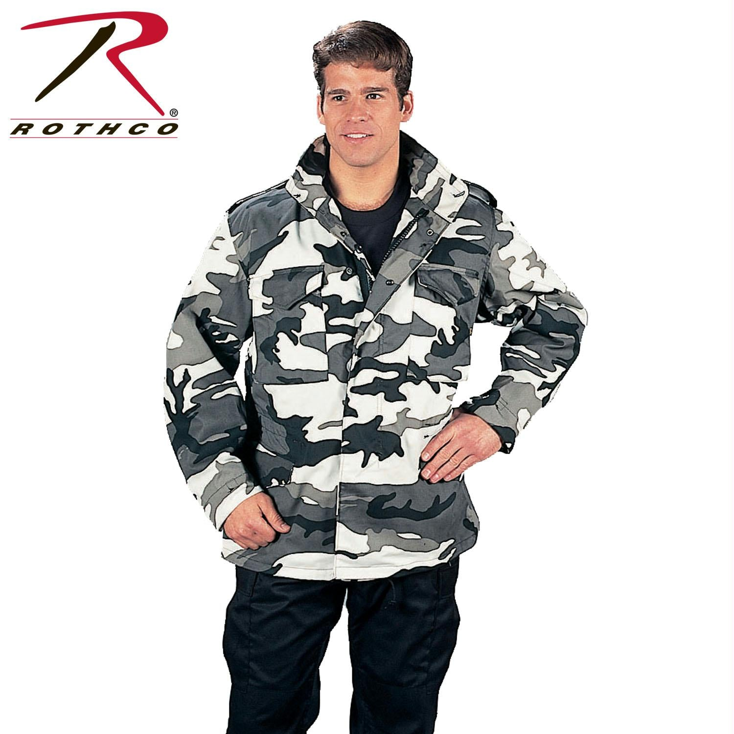 Rothco M-65 Camo Field Jacket - City Camo / 3XL