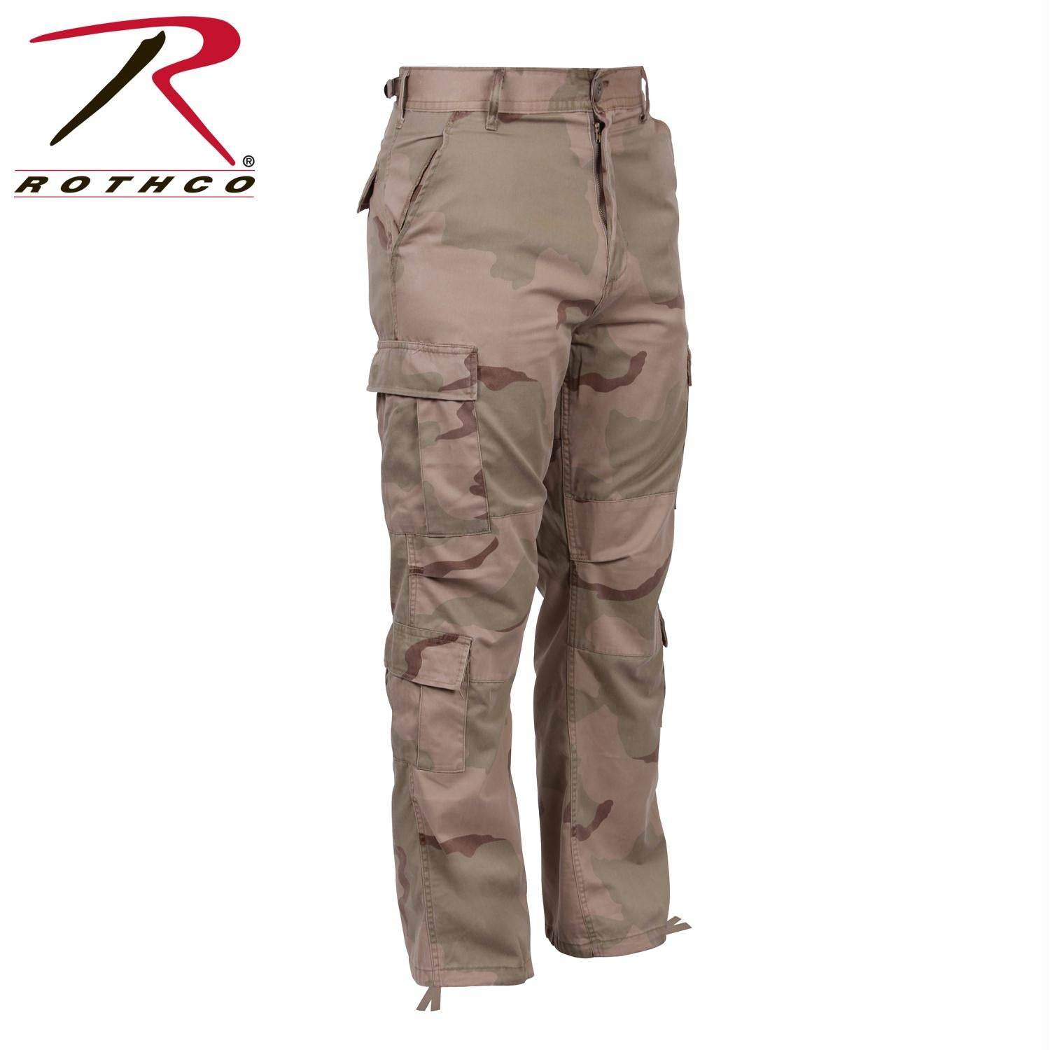 Rothco Camo Tactical BDU Pants - Tri-Color Desert Camo / XL