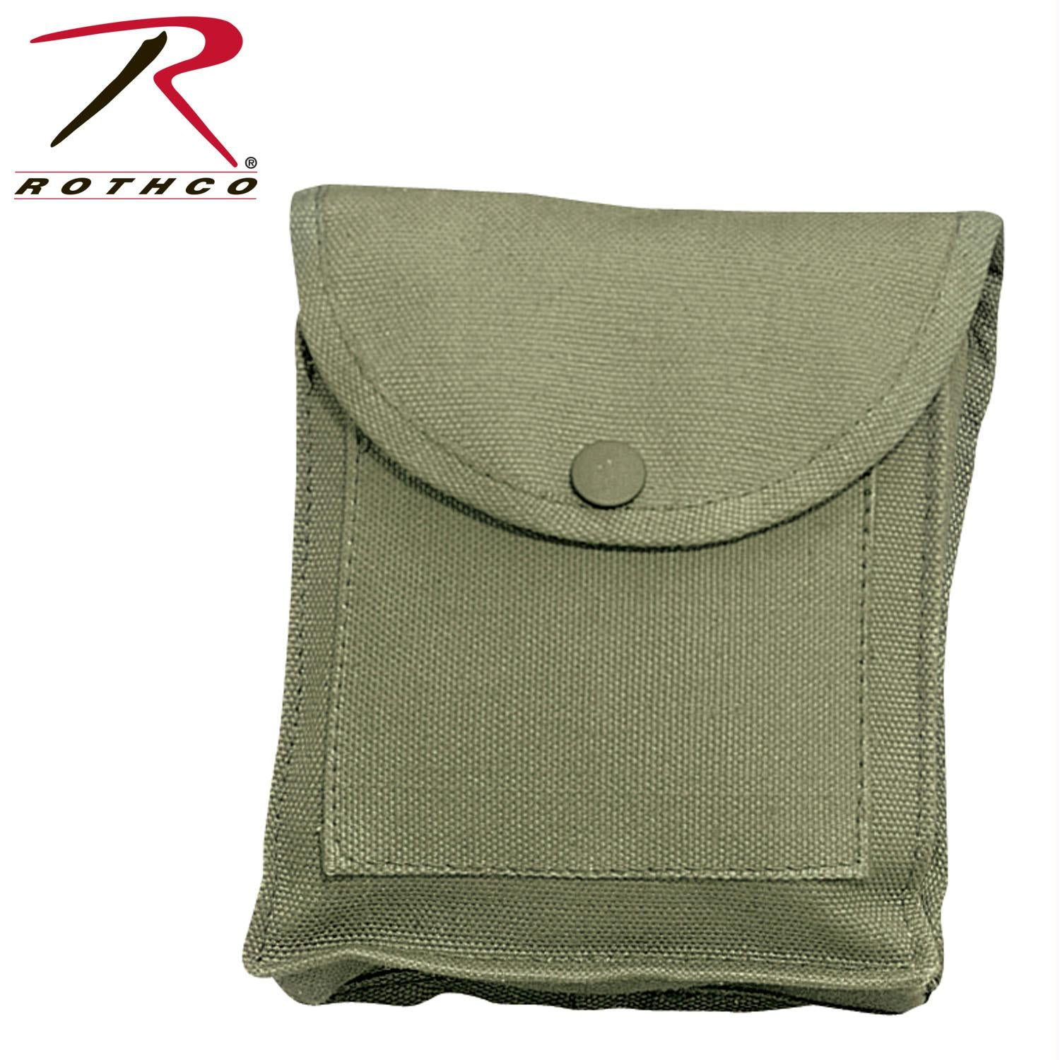 Rothco Canvas Utility Pouches - Olive Drab