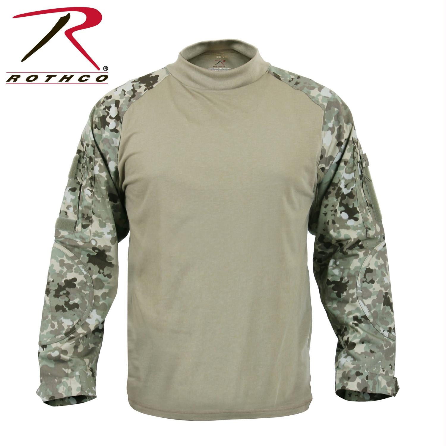 Rothco Military FR NYCO Combat Shirt - Total Terrain Camo / 2XL