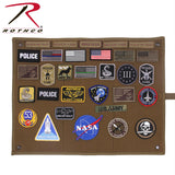 Rothco's Hanging Roll-Up Morale Patch Board