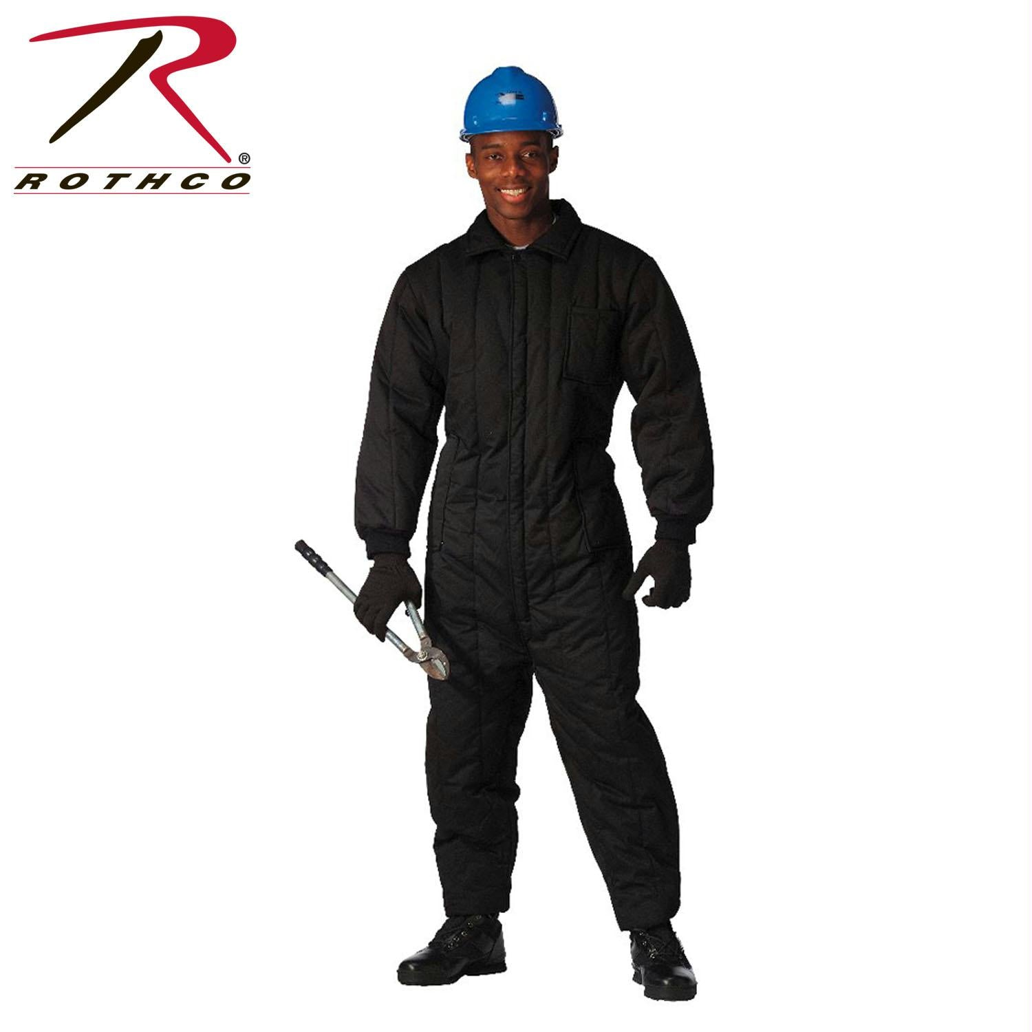 Rothco Insulated Coveralls - Black / 4XL
