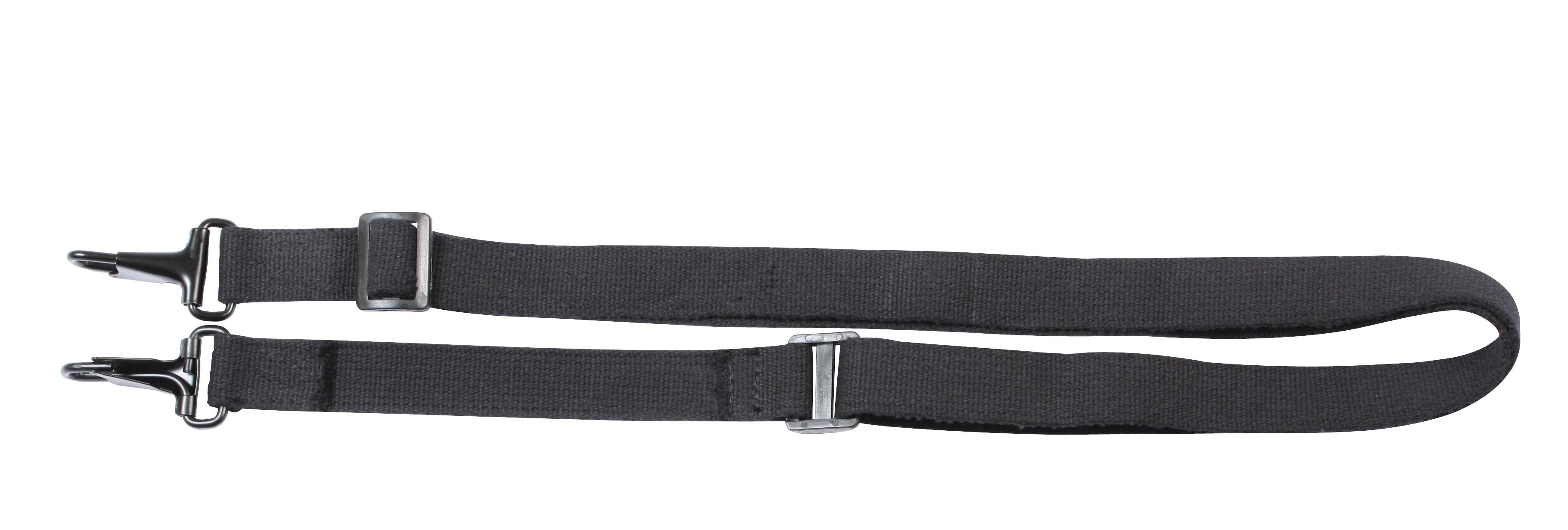 Rothco Canvas Shoulder Bag Strap - Black