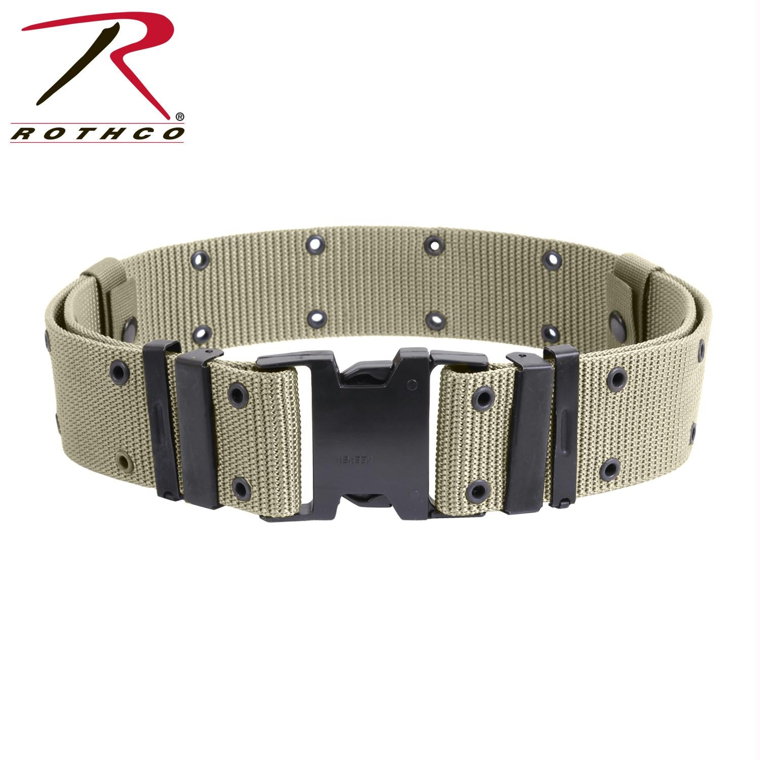 Rothco New Issue Marine Corps Style Quick Release Pistol Belts - Khaki / XL