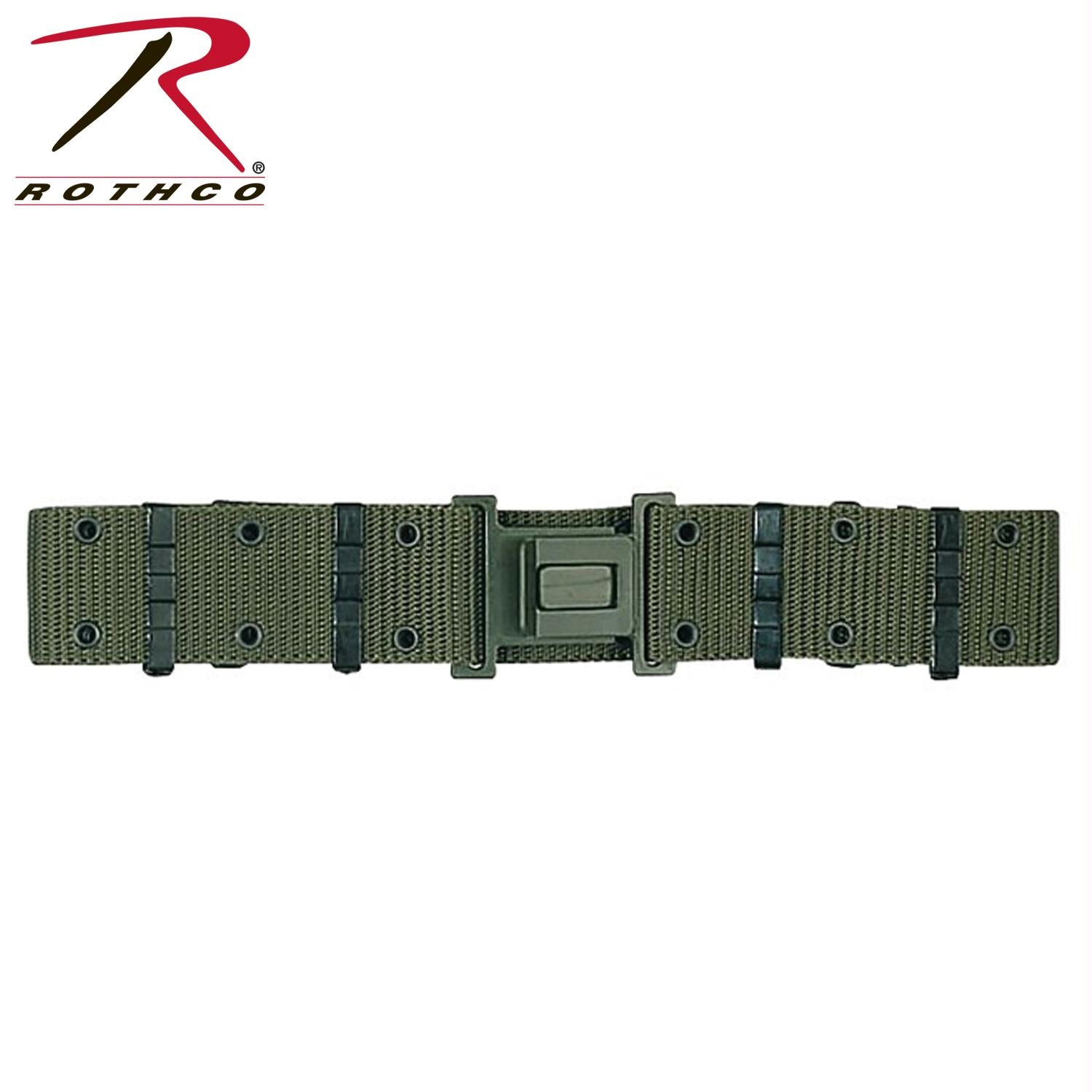 Rothco GI Style Quick Release Pistol Belt - Olive Drab / M