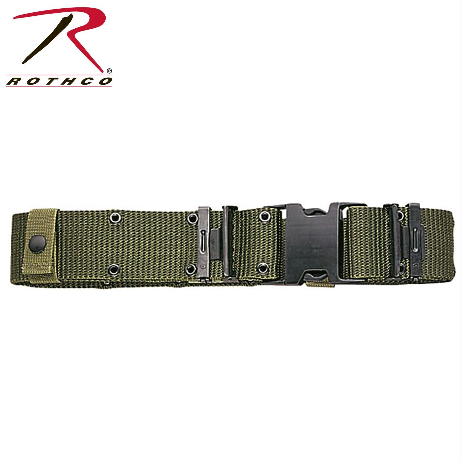 Rothco Genuine G.I. New Issue Quick Release Pistol Belt - Olive Drab / L