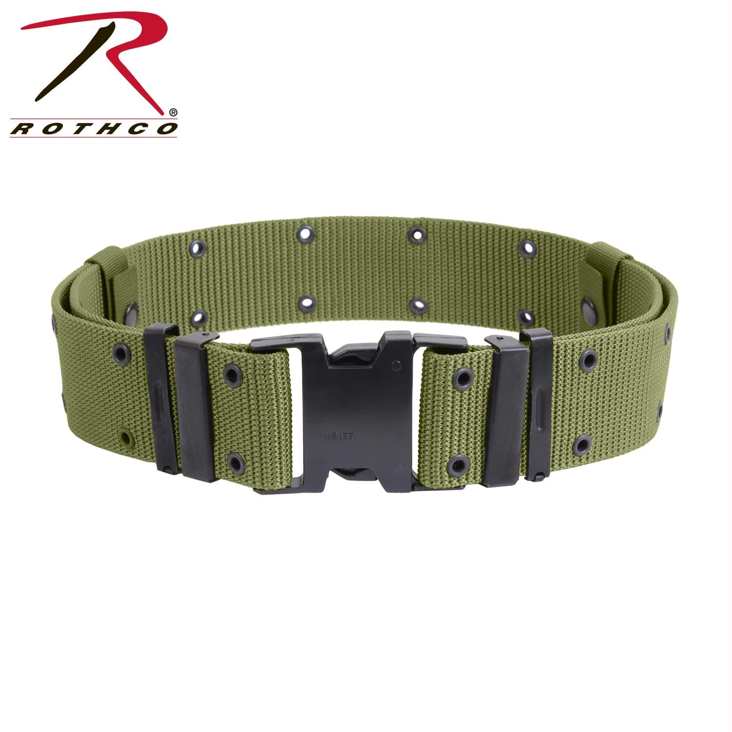 Rothco New Issue Marine Corps Style Quick Release Pistol Belts - Olive Drab / XL