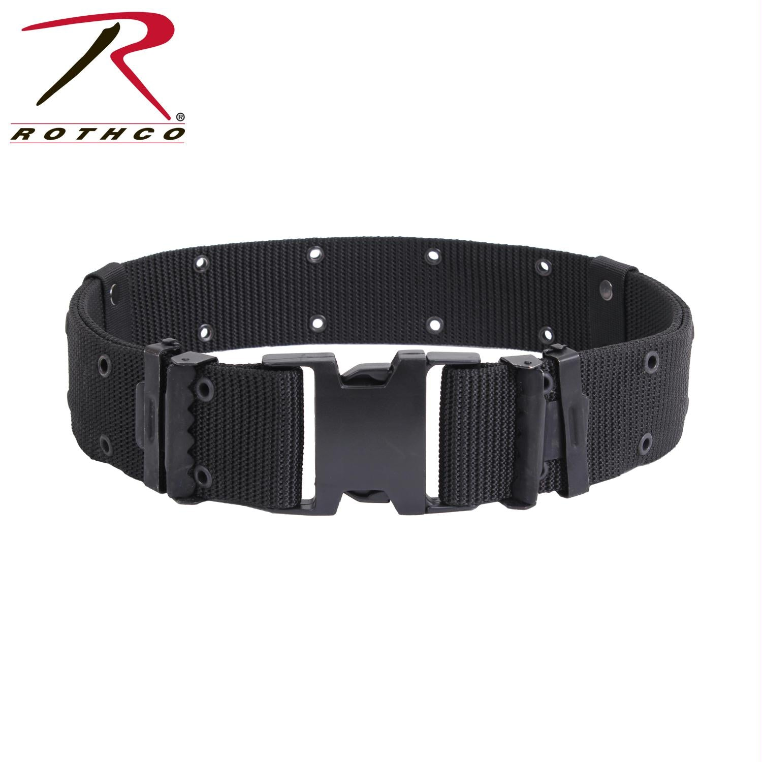 Rothco New Issue Marine Corps Style Quick Release Pistol Belts - Black / M