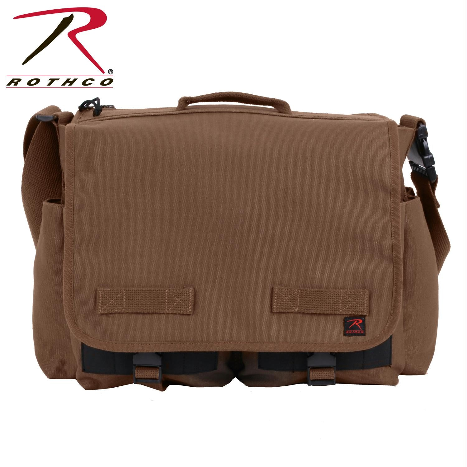 Rothco Concealed Carry Messenger Bag - Earth Brown