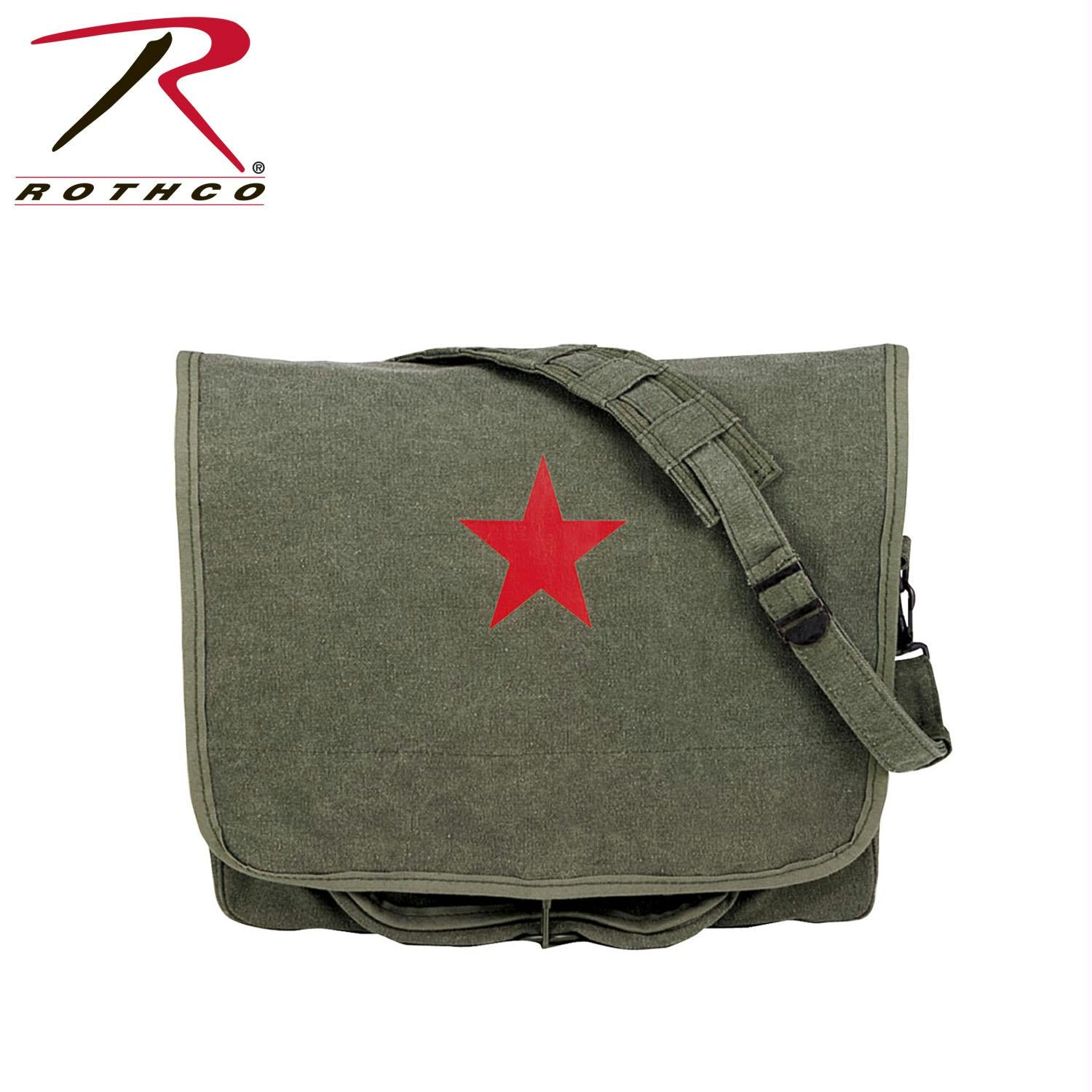 Rothco Canvas Shoulder Bag - Olive Drab