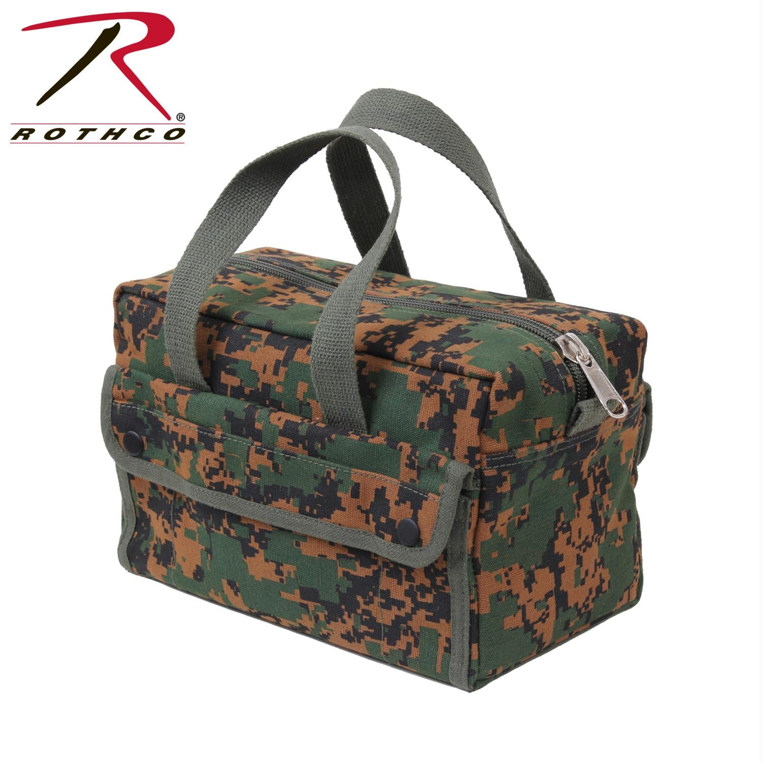 Rothco G.I. Type Mechanics Tool Bags - Woodland Digital Camo