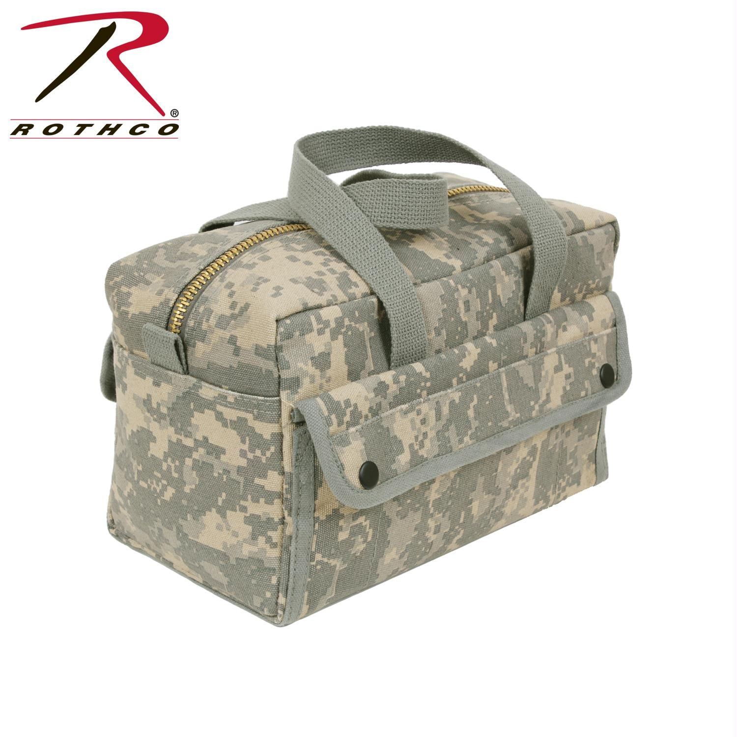 Rothco G.I. Type Mechanics Tool Bag With Brass Zipper - ACU Digital Camo