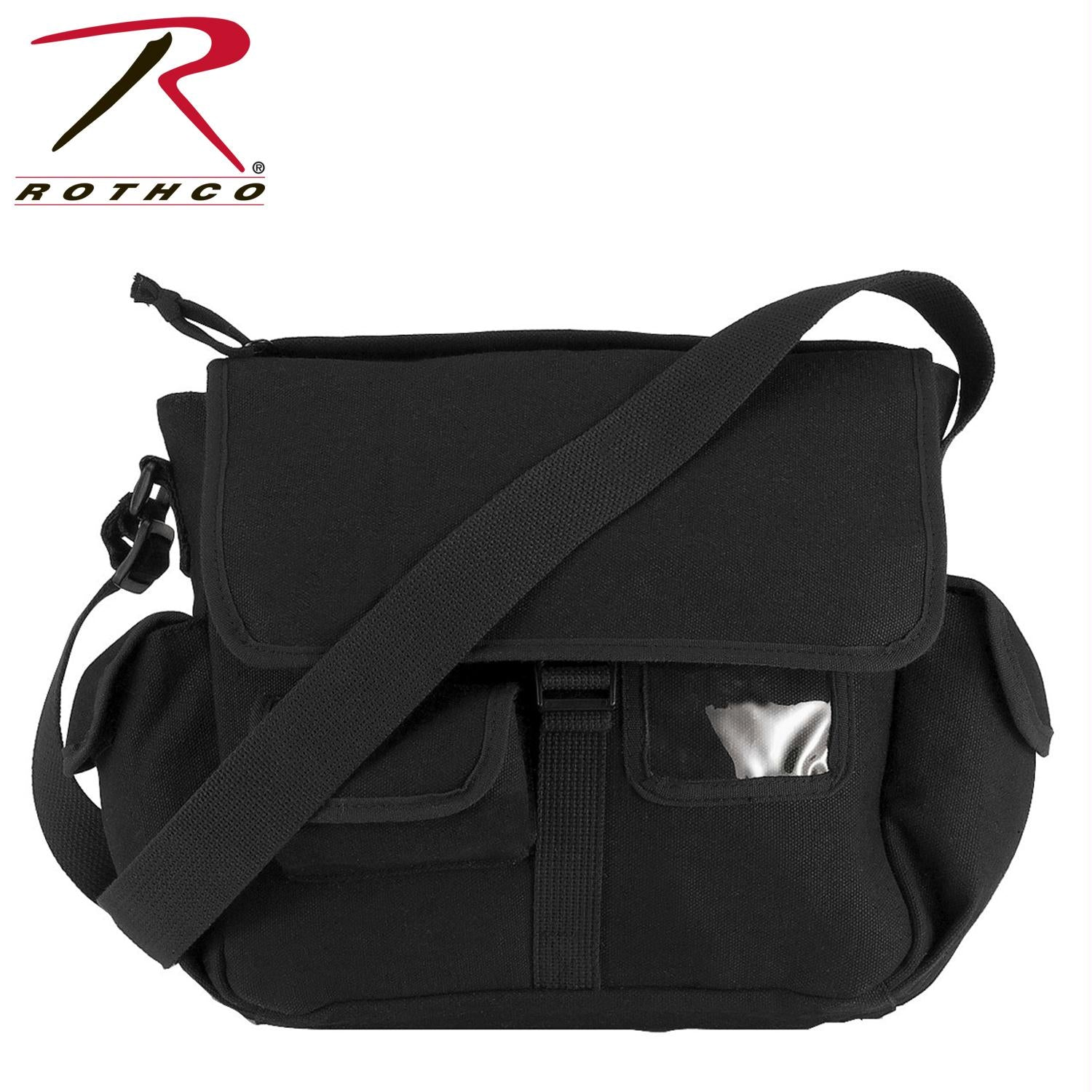 Rothco Canvas Urban Explorer Bag - Black