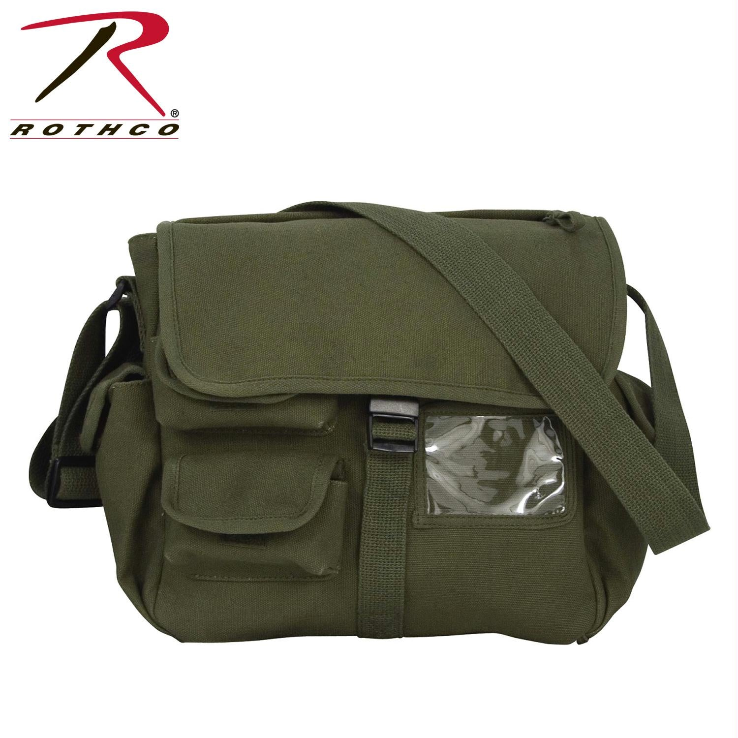 Rothco Canvas Urban Explorer Bag - Olive Drab