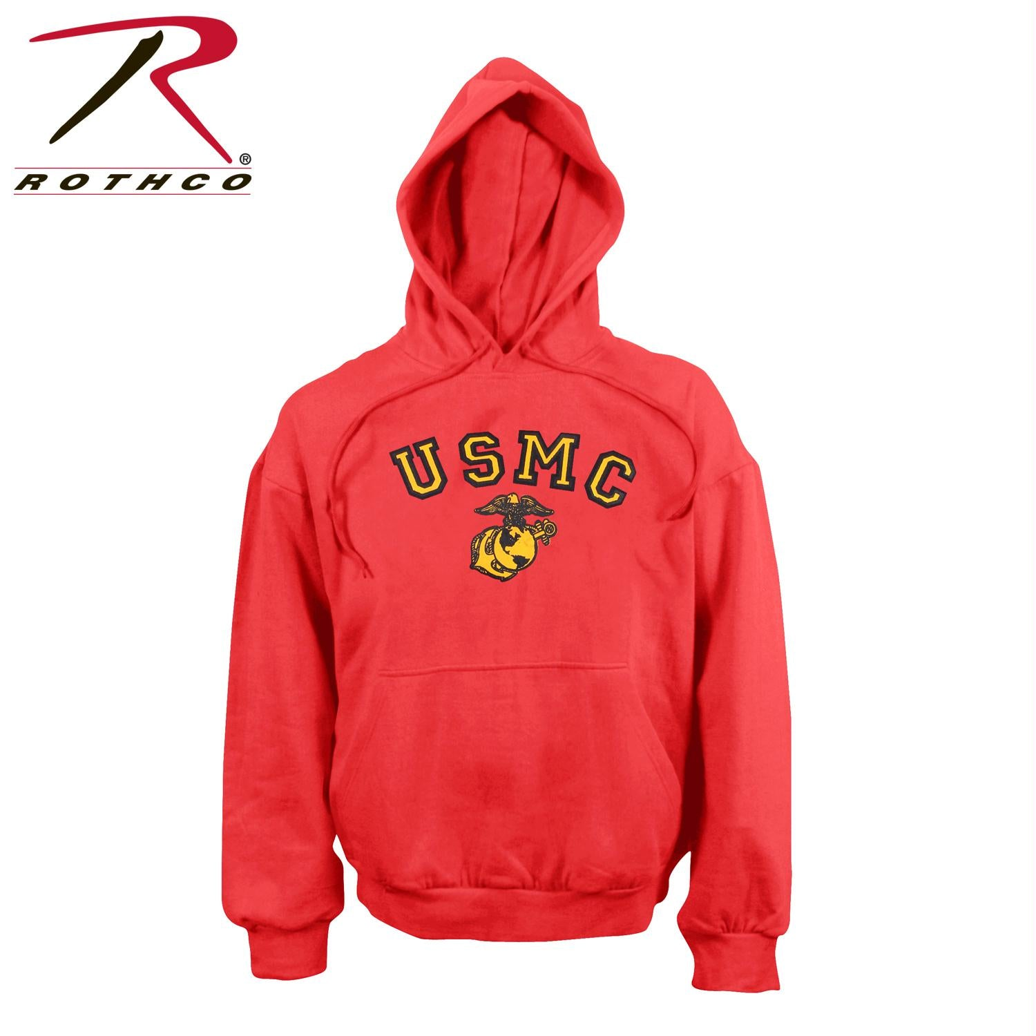 Rothco USMC Globe & Anchor Pullover Hooded Sweatshirt - L