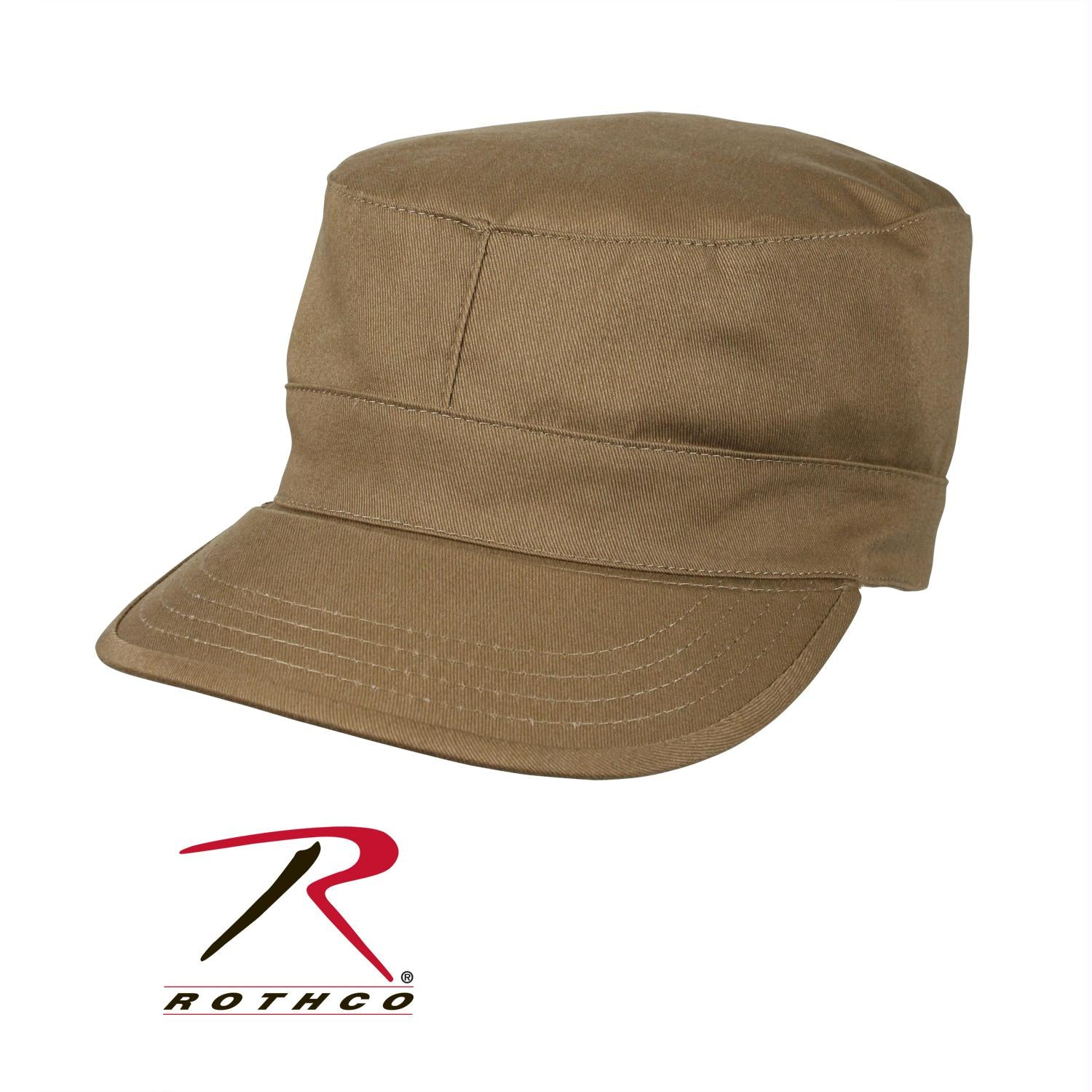 Rothco Fatigue Caps - Coyote Brown / XS