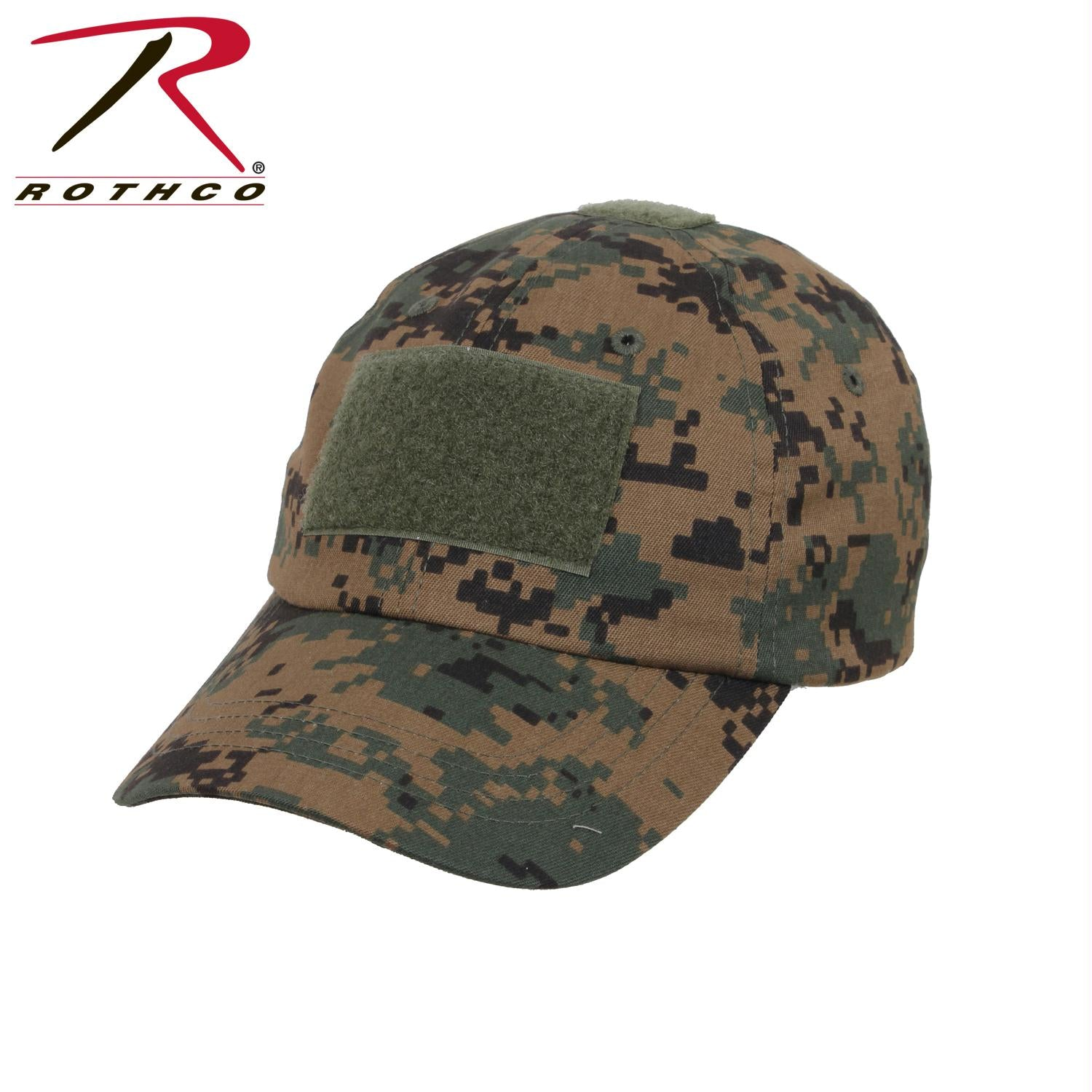 Rothco Tactical Operator Cap - Woodland Digital Camo