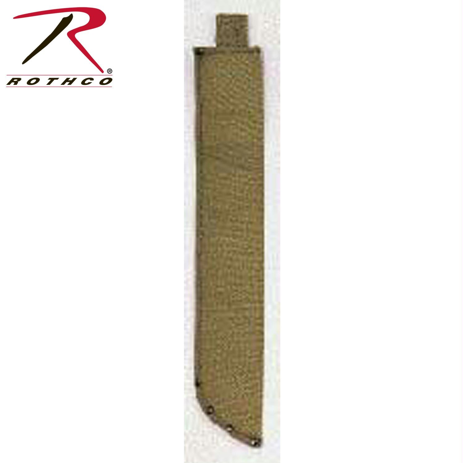 Rothco O.D. Canvas Machete Sheath - 22 Inches