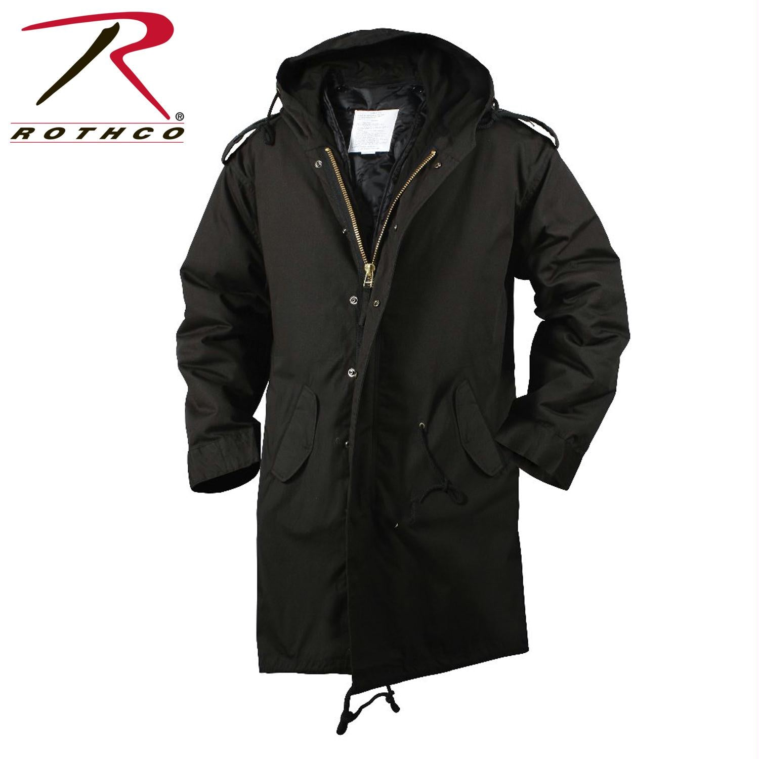 Rothco M-51 Fishtail Parka - Black / XL
