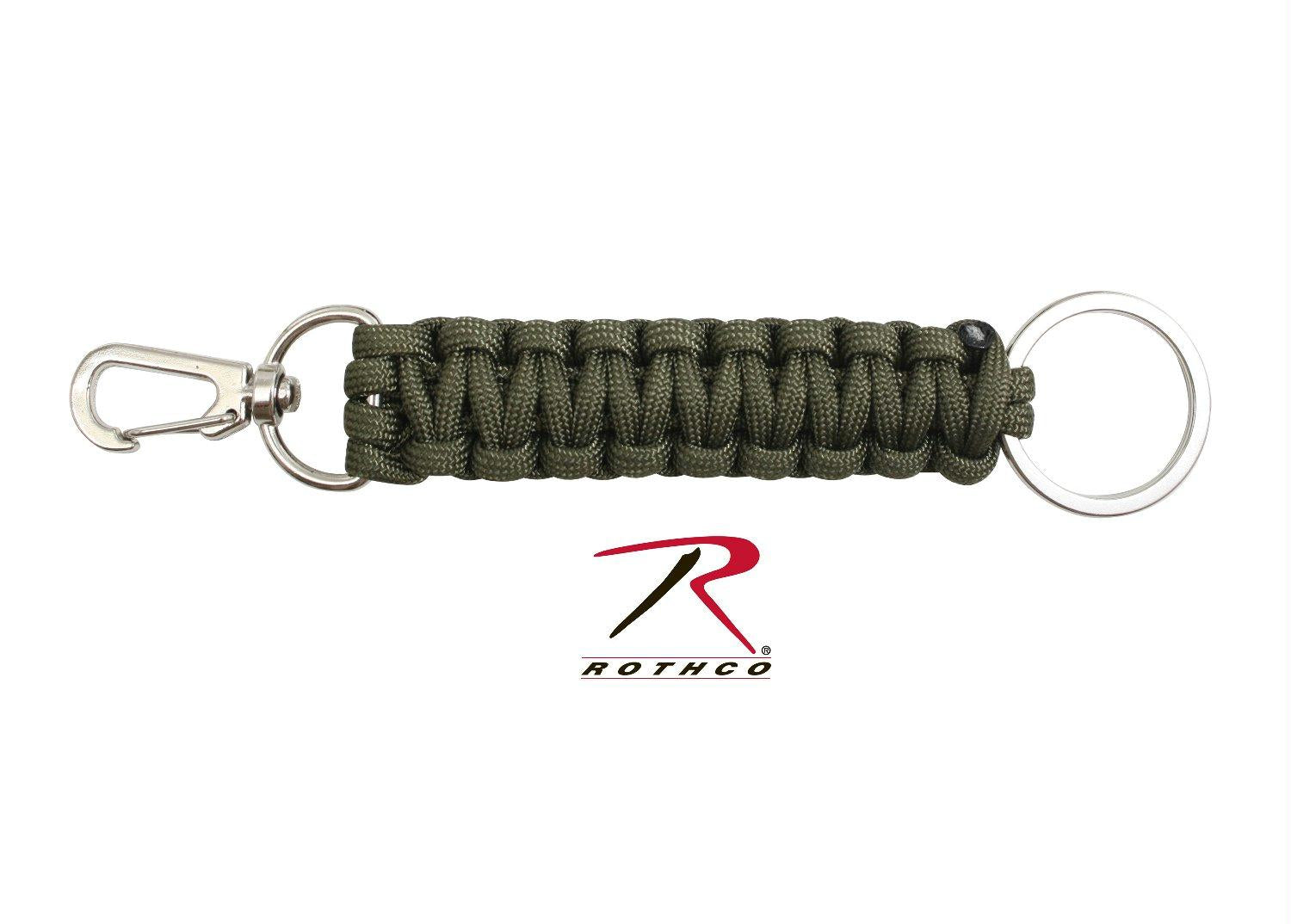 Rothco Paracord Keychain - Olive Drab
