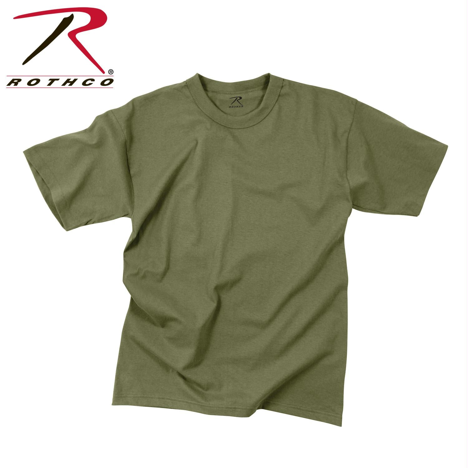 Rothco Moisture Wicking T-Shirts - Olive Drab / XL