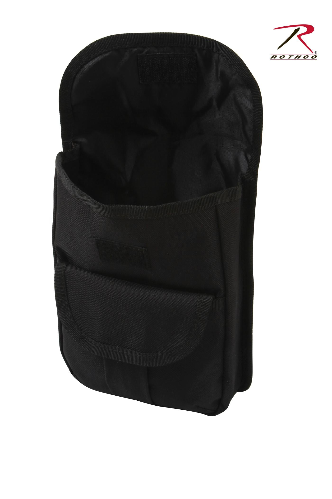 Rothco MOLLE 2 Pocket Ammo Pouch - Black