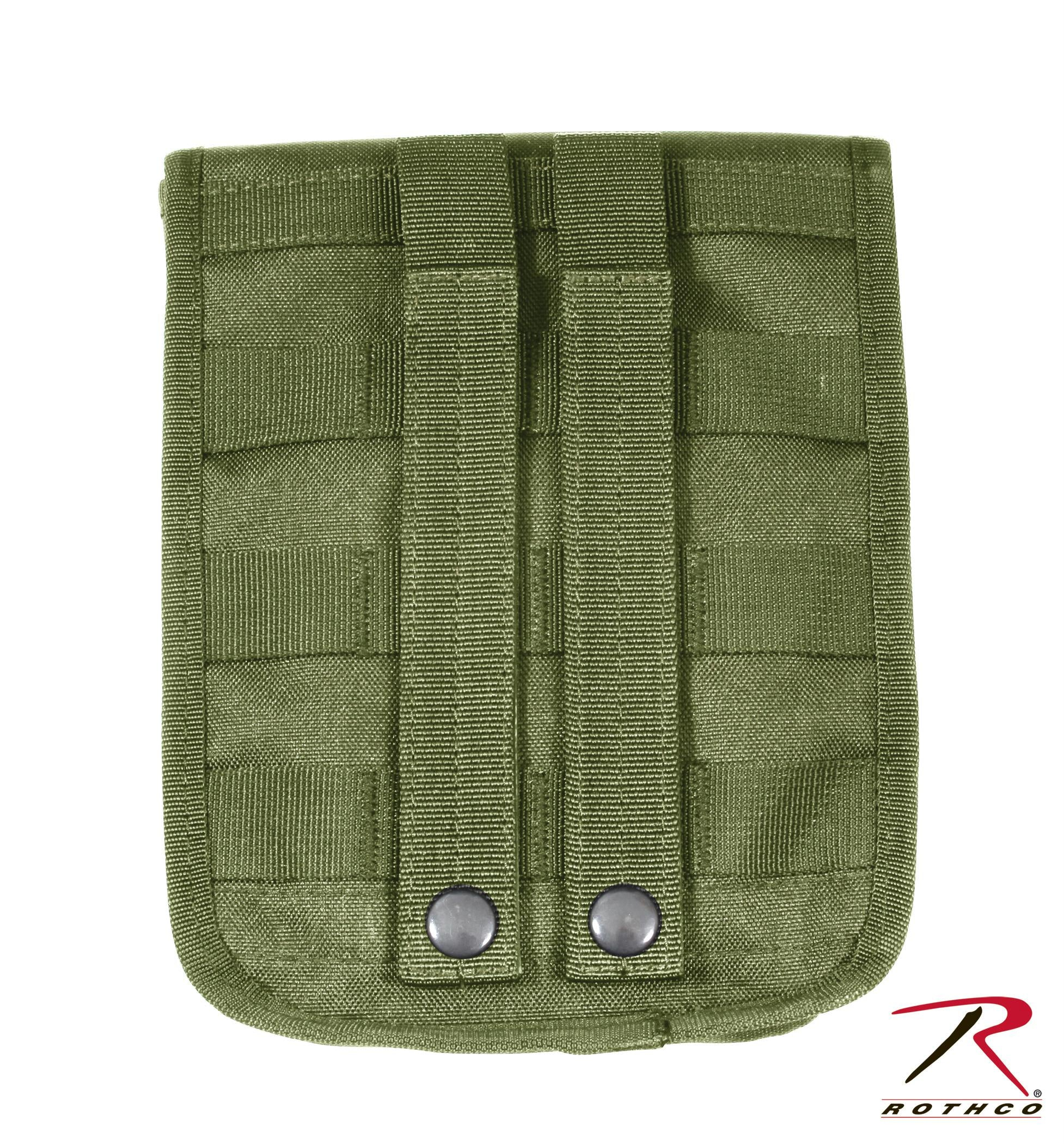 Rothco MOLLE 2 Pocket Ammo Pouch - Olive Drab