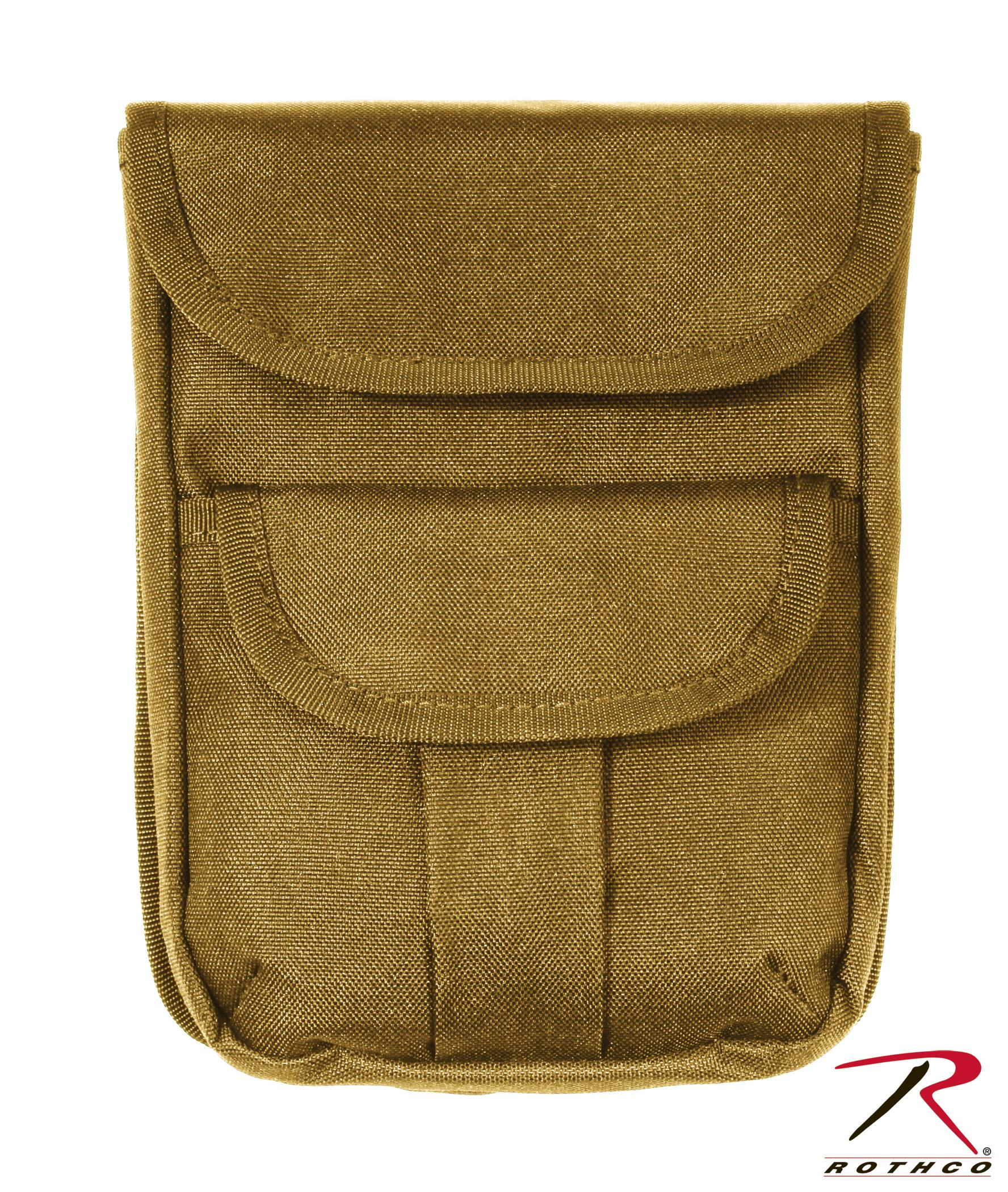 Rothco MOLLE 2 Pocket Ammo Pouch - Coyote Brown