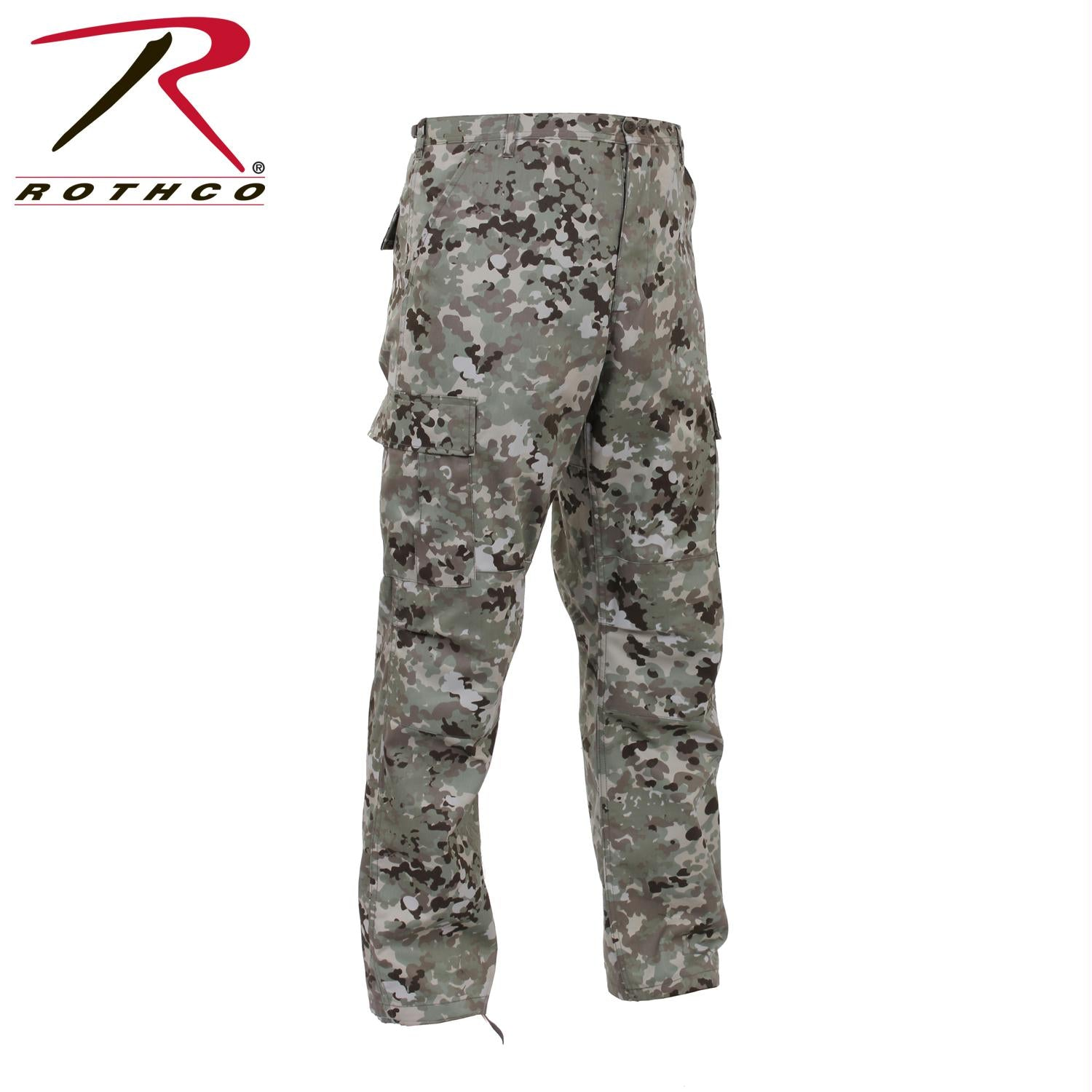 Rothco Camo Tactical BDU Pants - Total Terrain Camo / 3XL