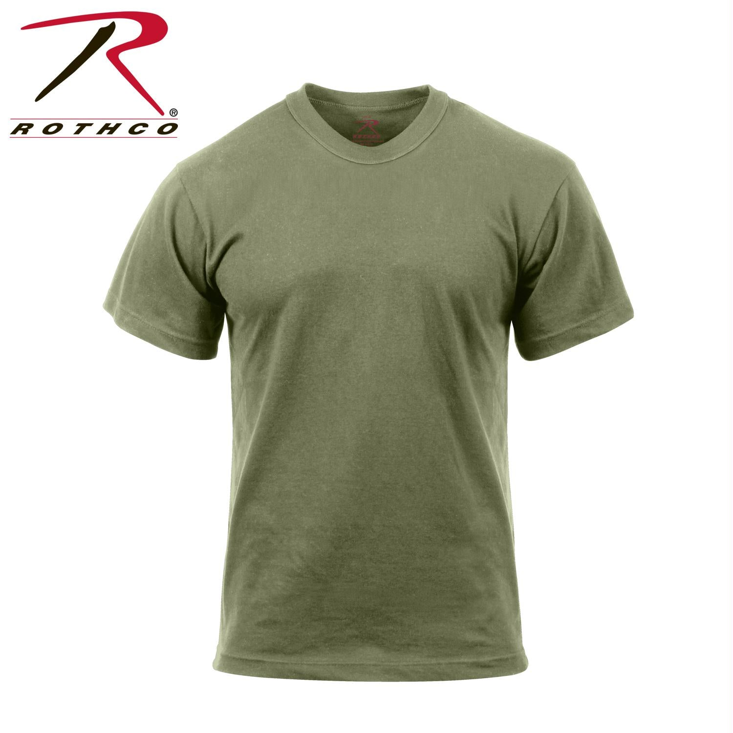 Rothco Moisture Wicking T-Shirts - Foliage Green / S